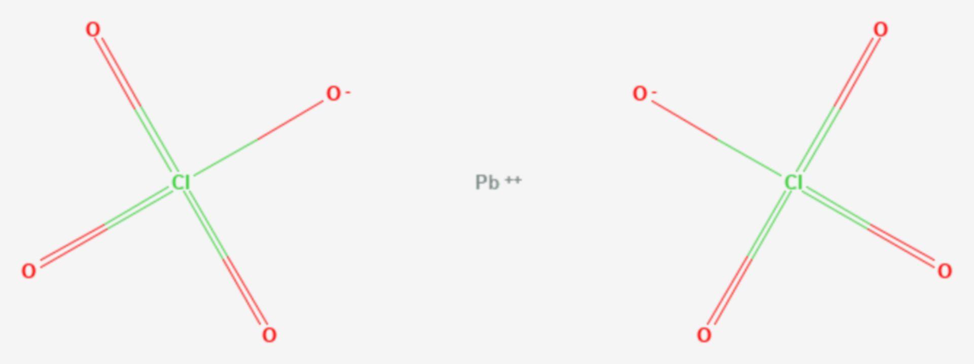 Blei(II)-perchlorat (Strukturformel)