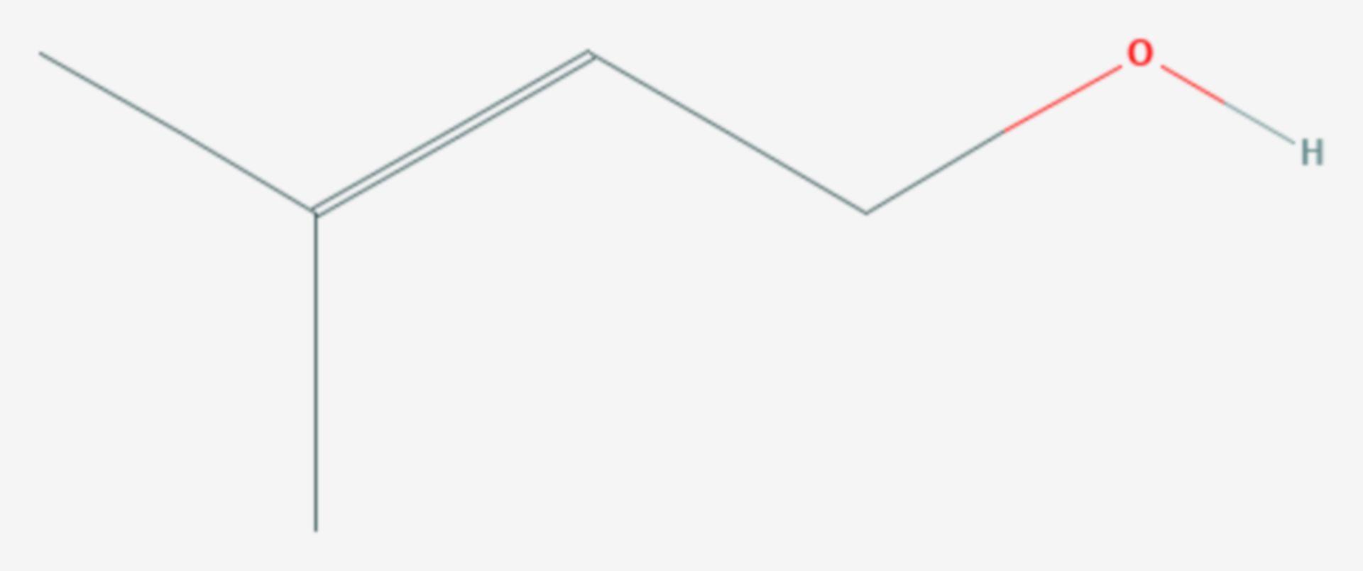 Prenol (Strukturformel)