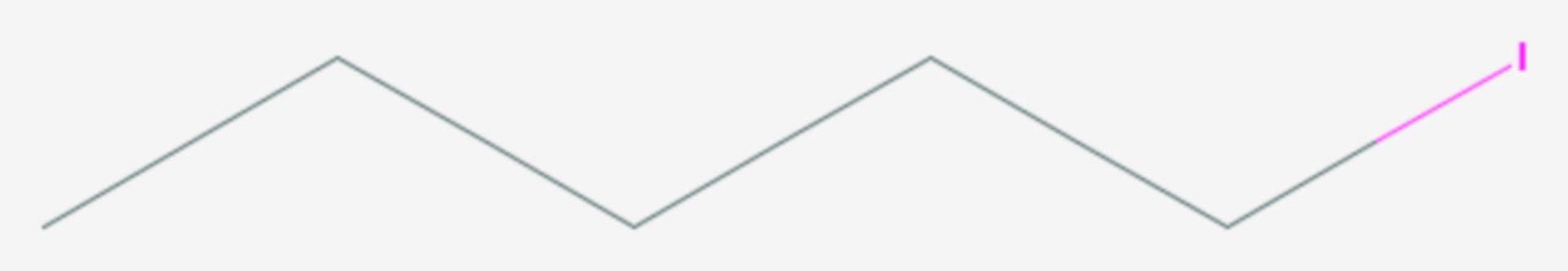 1-Iodpentan (Strukturformel)