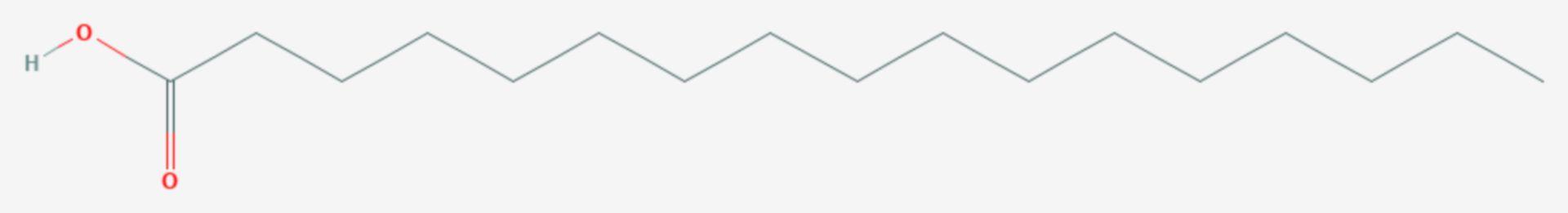 Margarinsäure (Strukturformel)