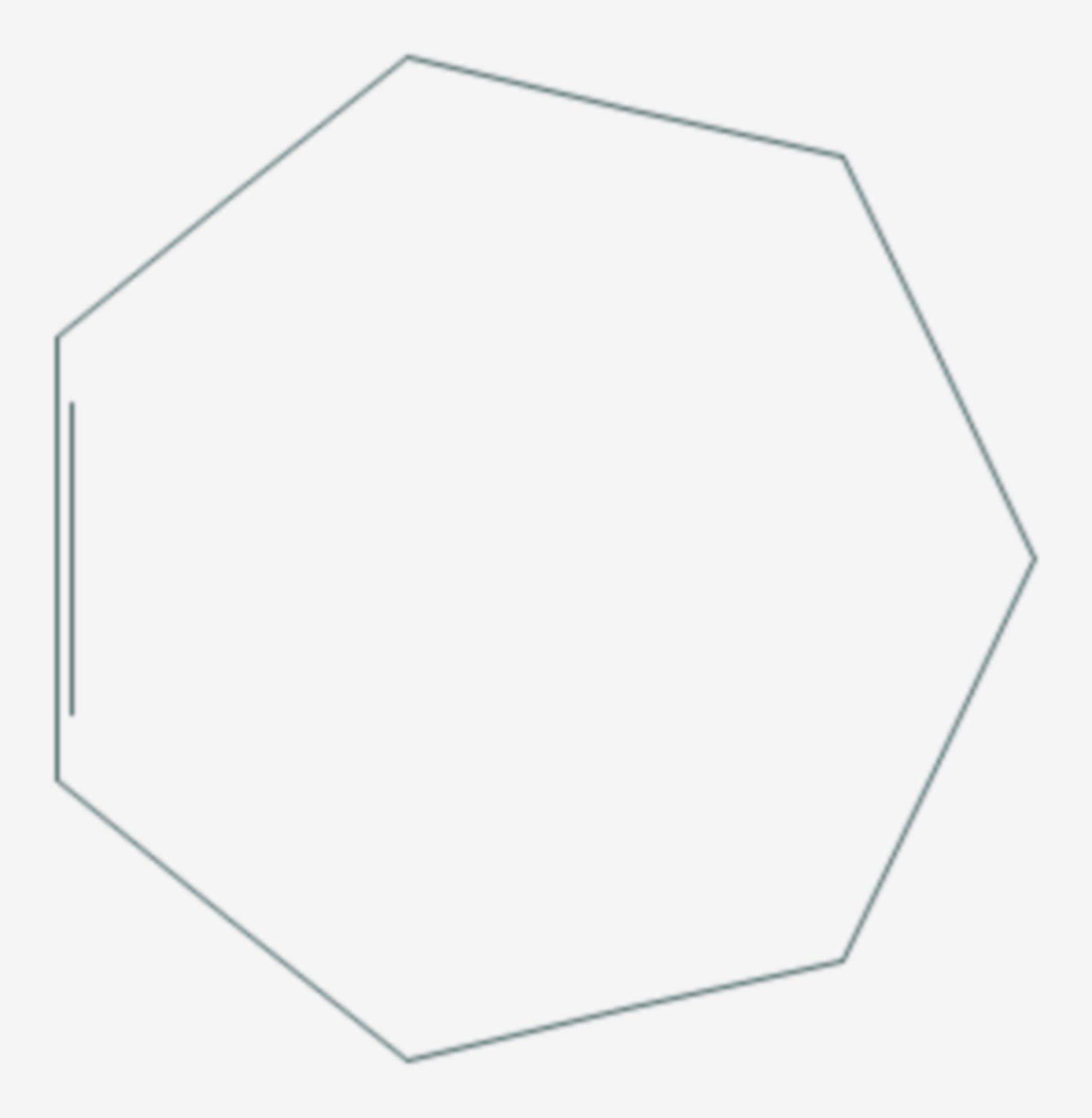 Cyclohepten (Strukturformel)