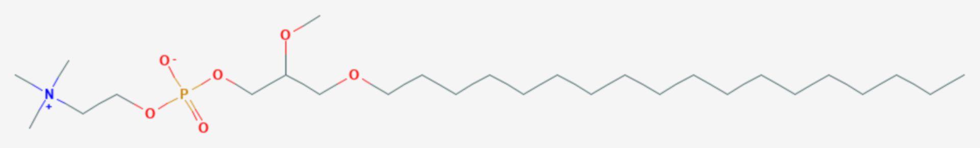 Edelfosin (Strukturformel)