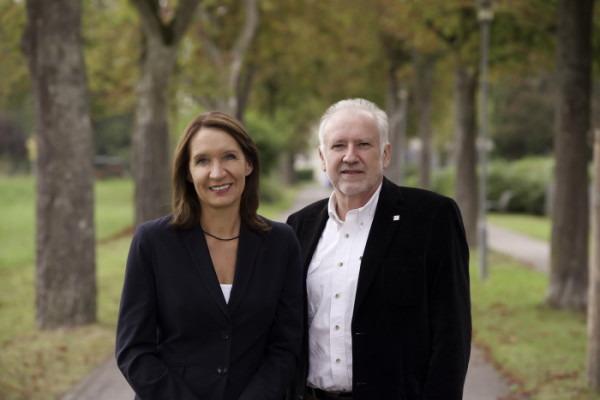 Maggie Schauer und Thomas Elbert @ Universität Konstanz