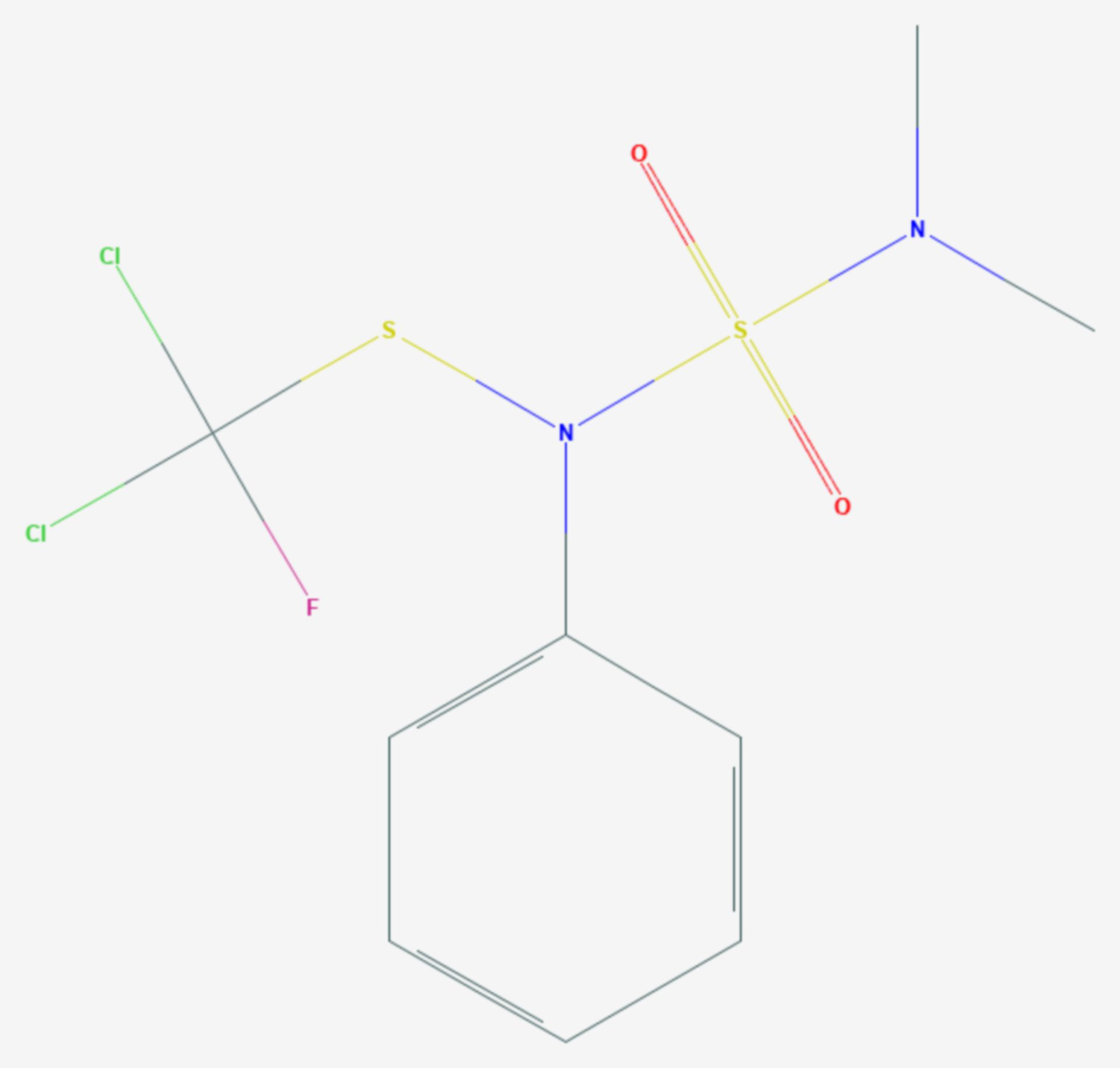 Dichlofluanid (Strukturformel)