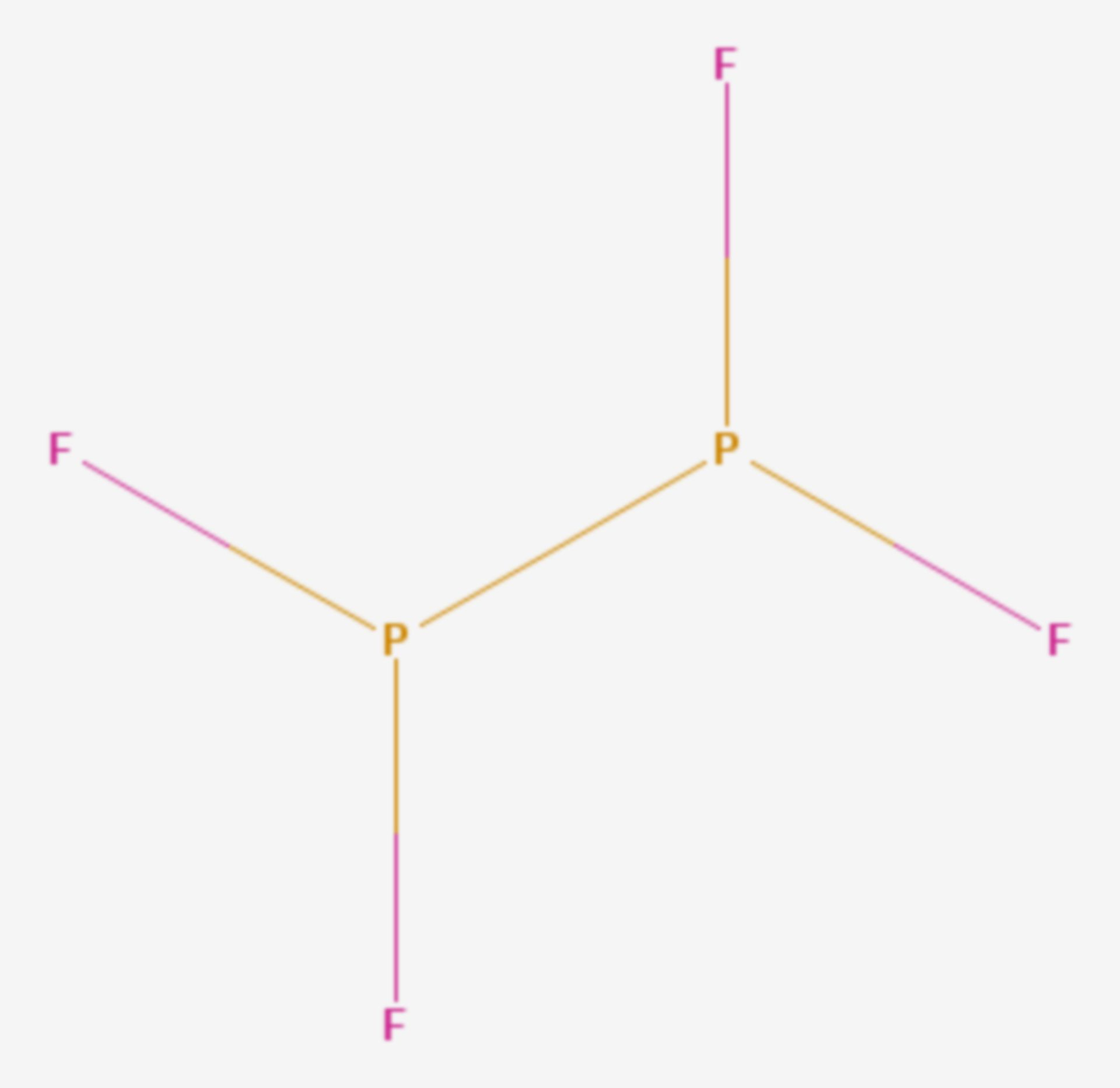Phosphor(II)-fluorid (Strukturformel)