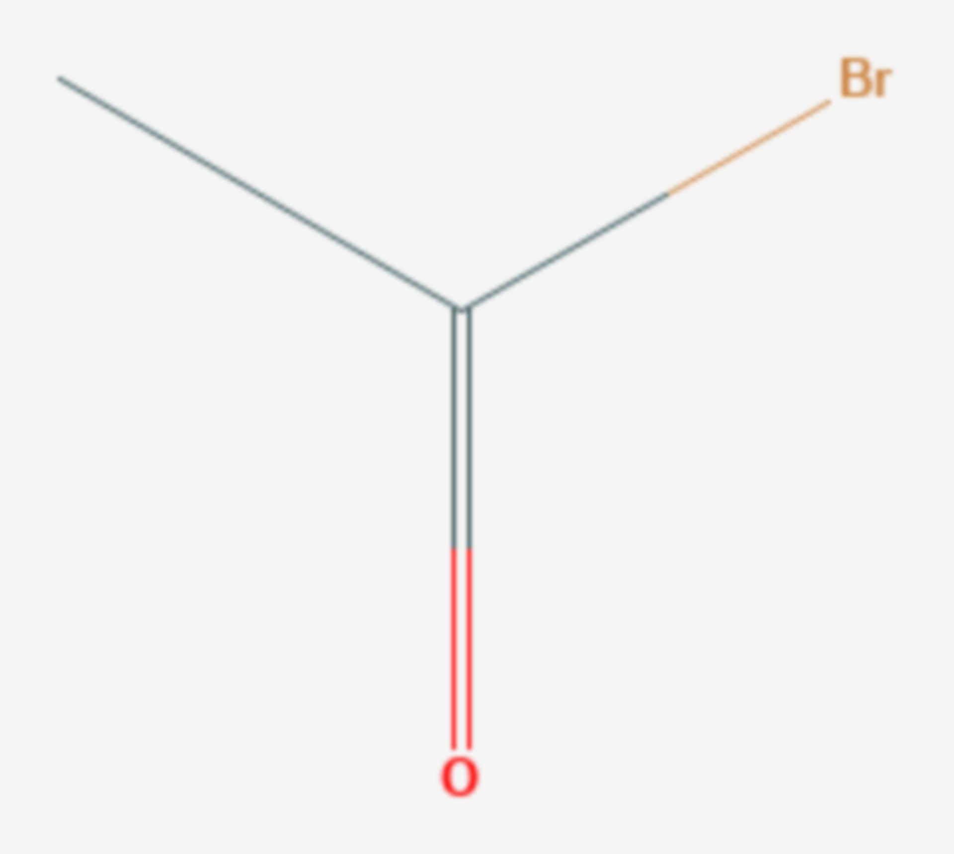 Acetylbromid (Strukturformel)