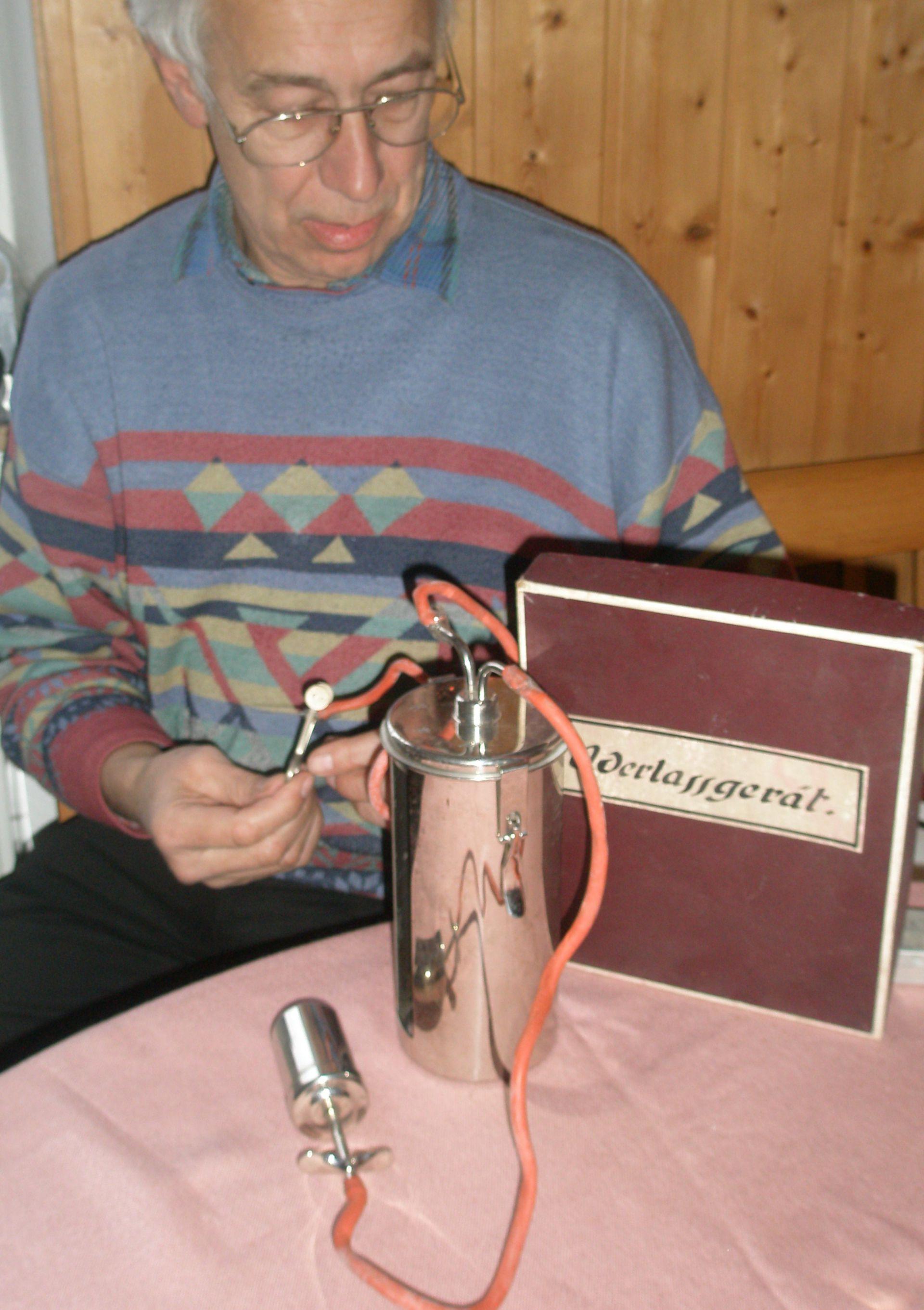 Salasso: strumento dal 1920