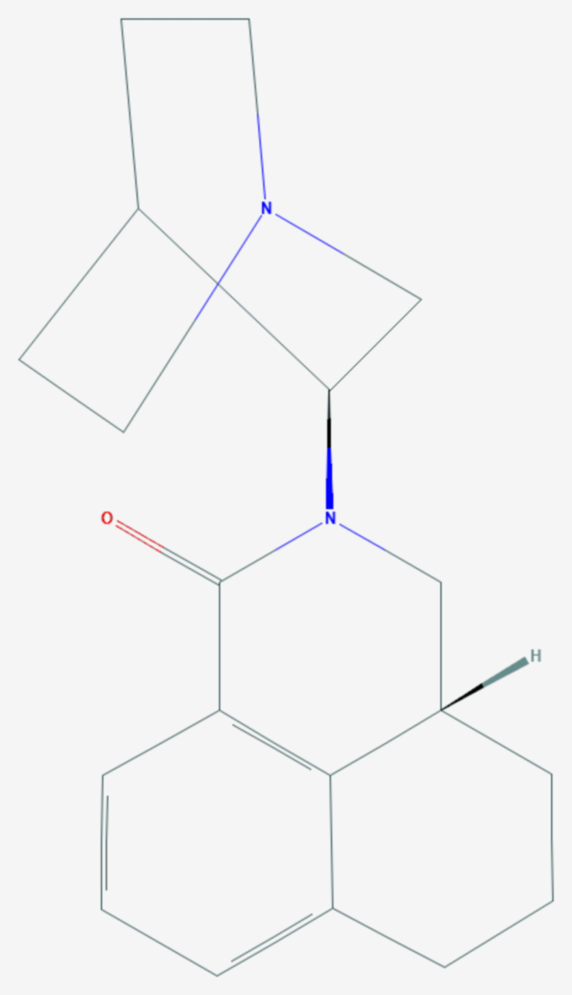 Palonosetron (Strukturformel)