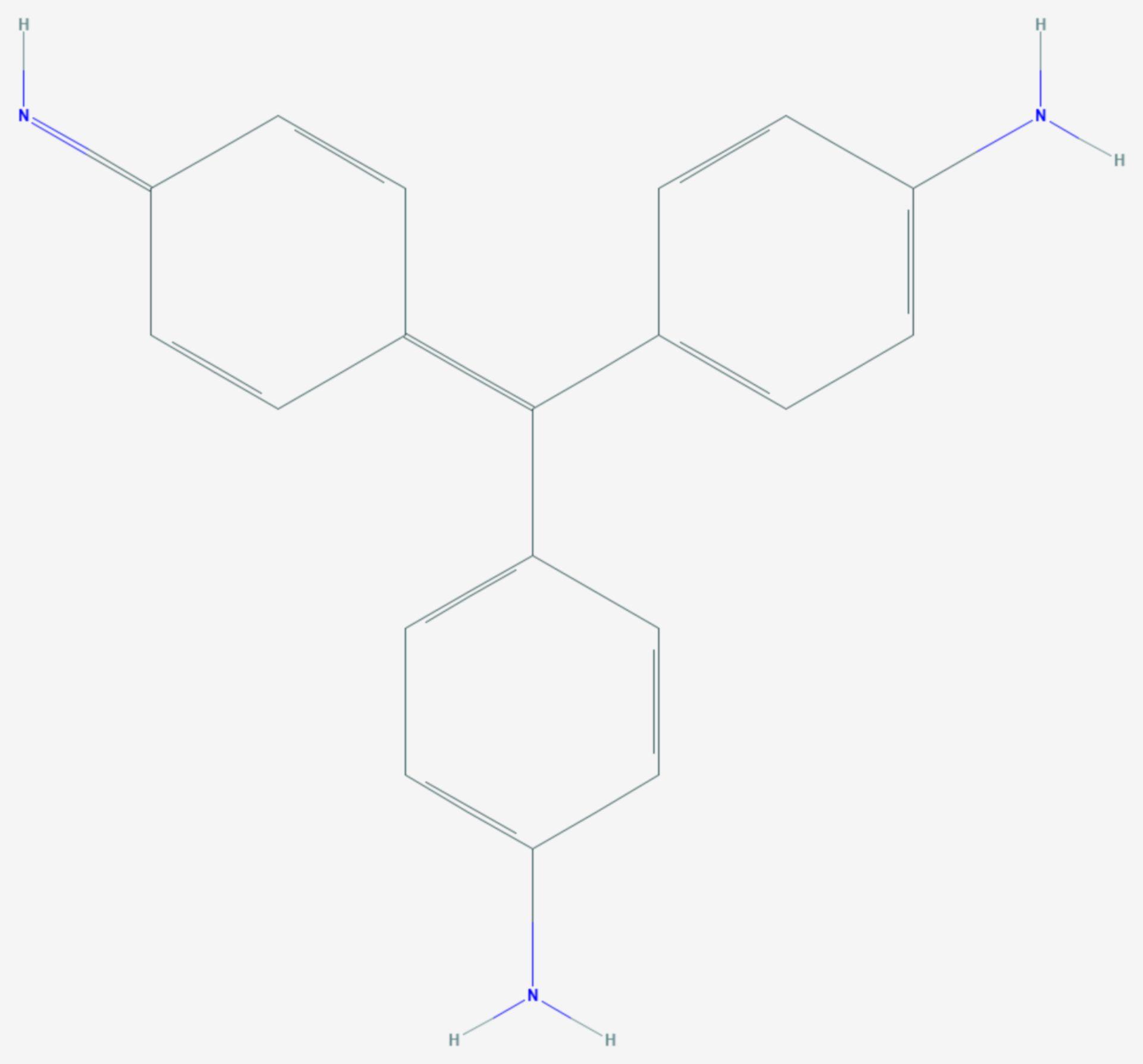Parafuchsin (Strukturformel)