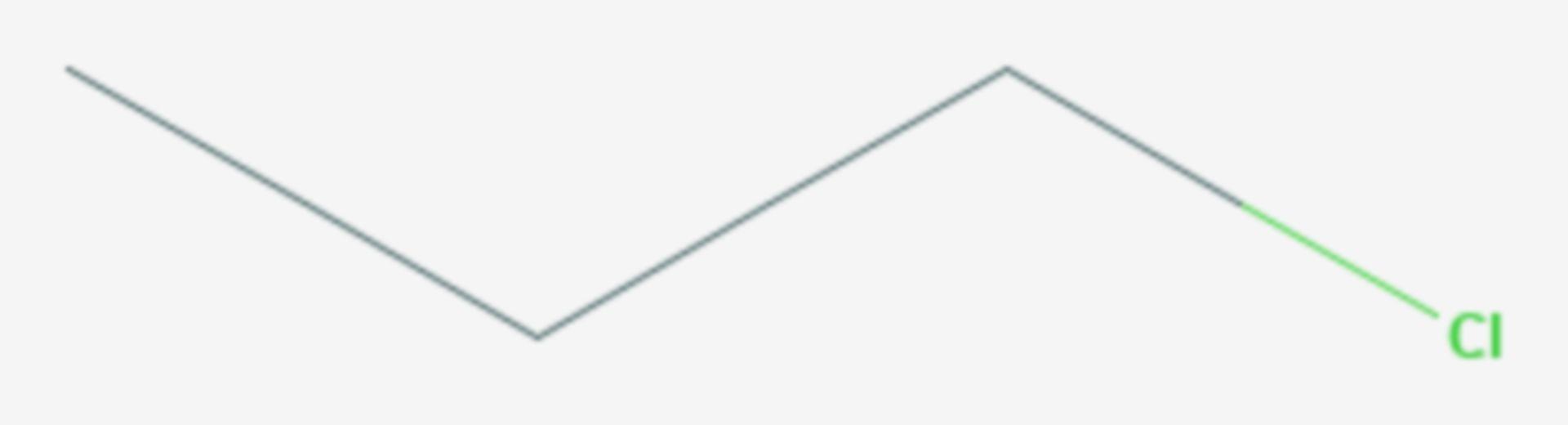 1-Chlorpropan (Strukturformel)
