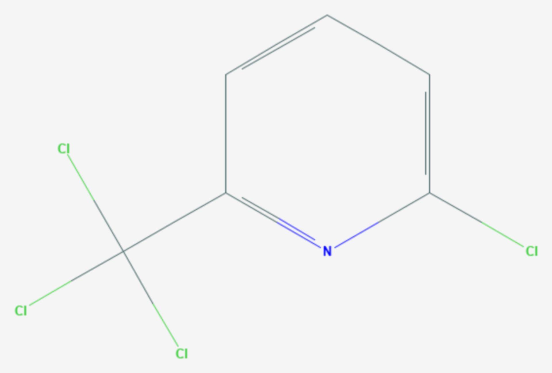 Nitrapyrin (Strukturformel)