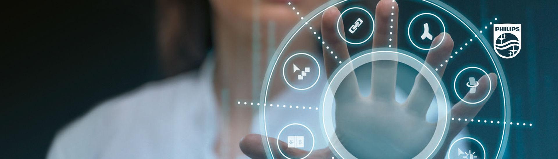 Vernetzung von Daten und Technologien steigert die Effizienz