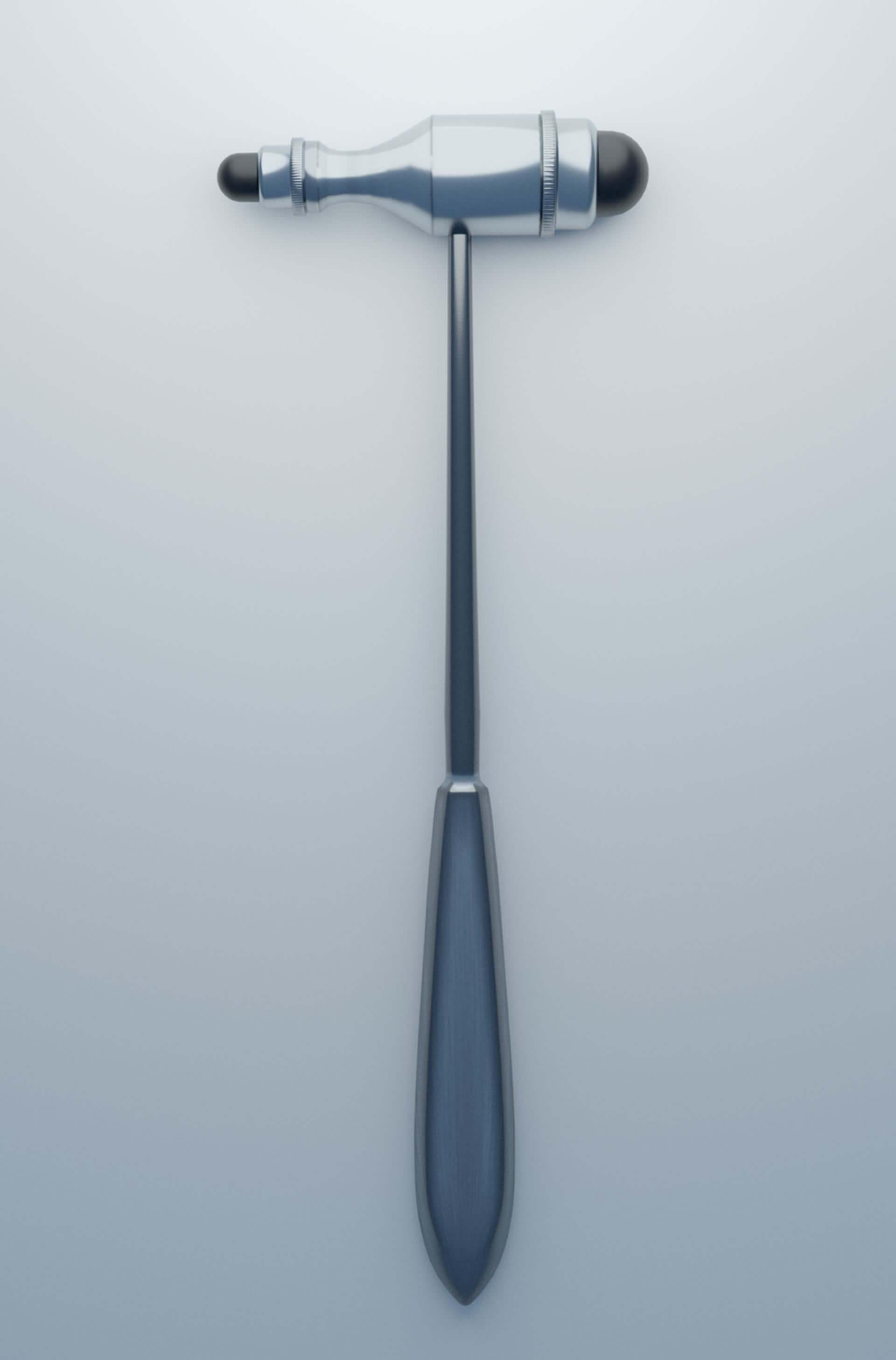 3D-Rendering: Reflexhammer nach Trömner