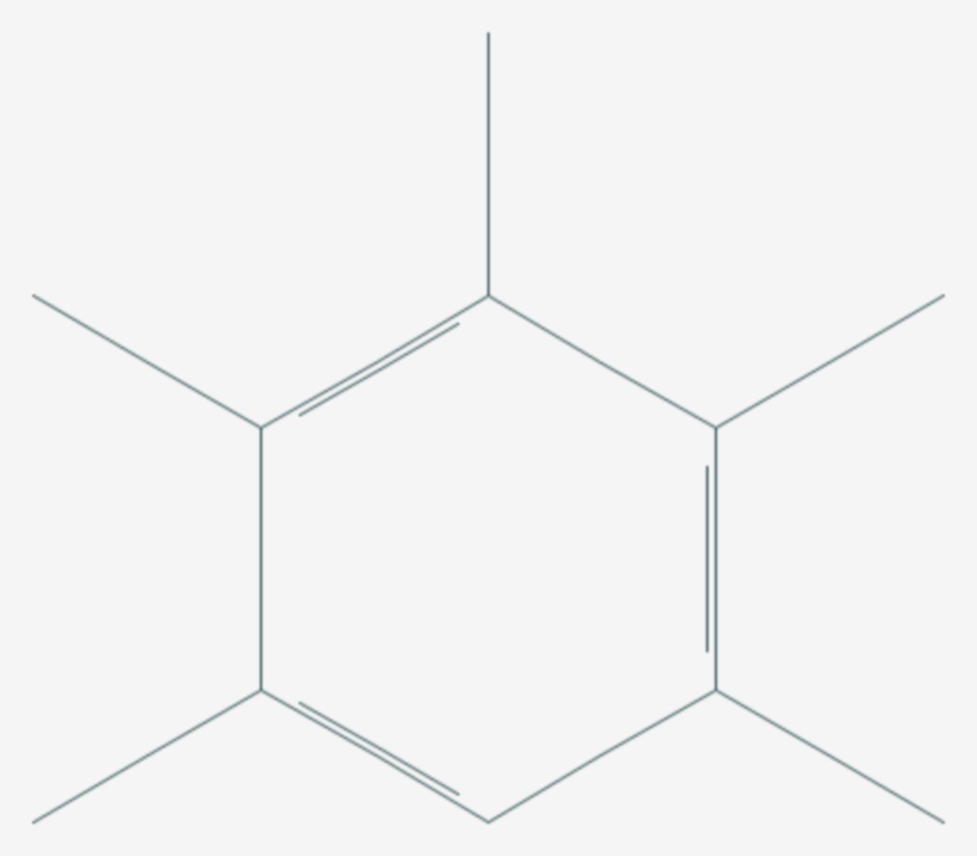Pentamethylbenzol (Strukturformel)