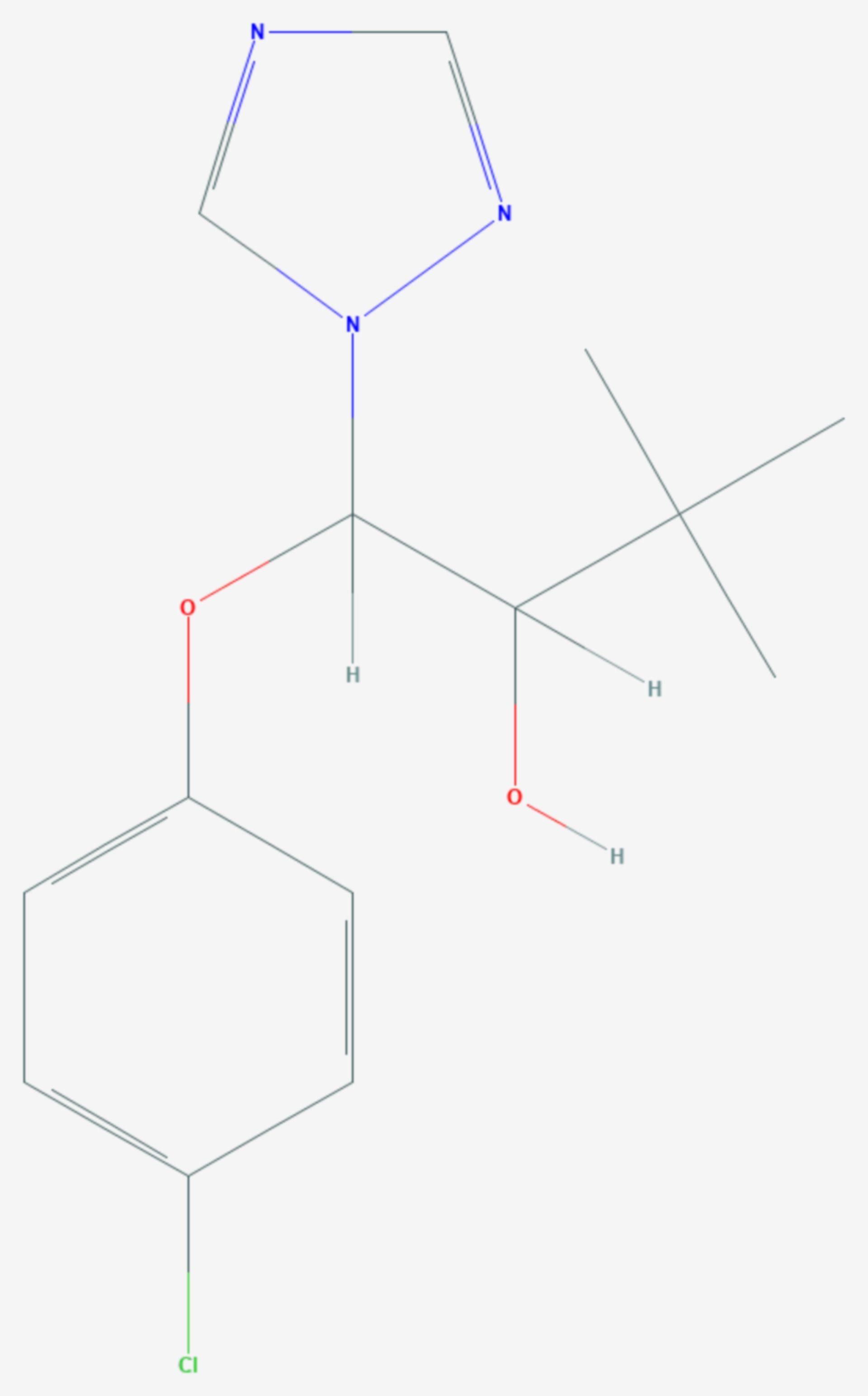 Triadimenol (Strukturformel)