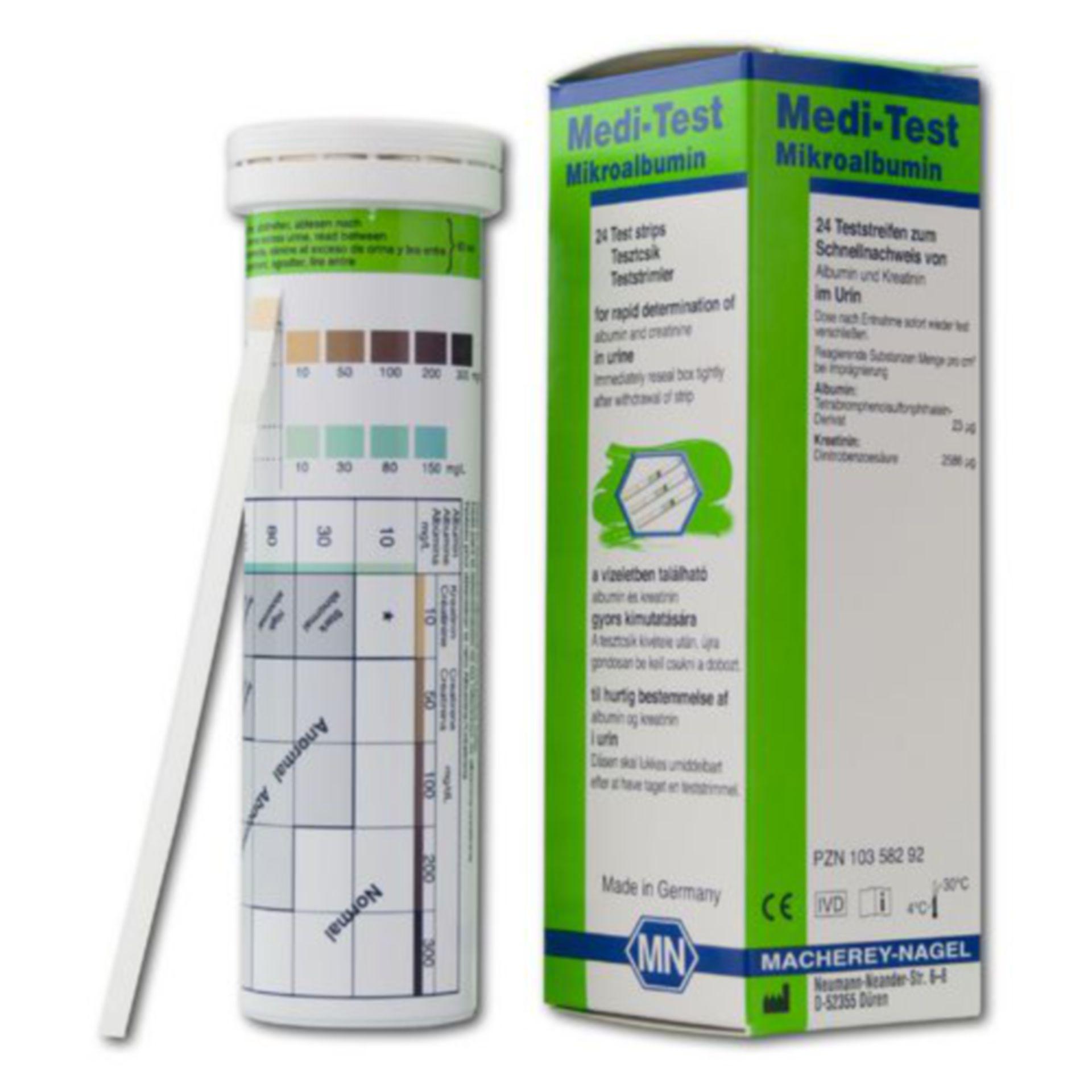 ! NUEVO - Medi-Test Mikroalbumin !