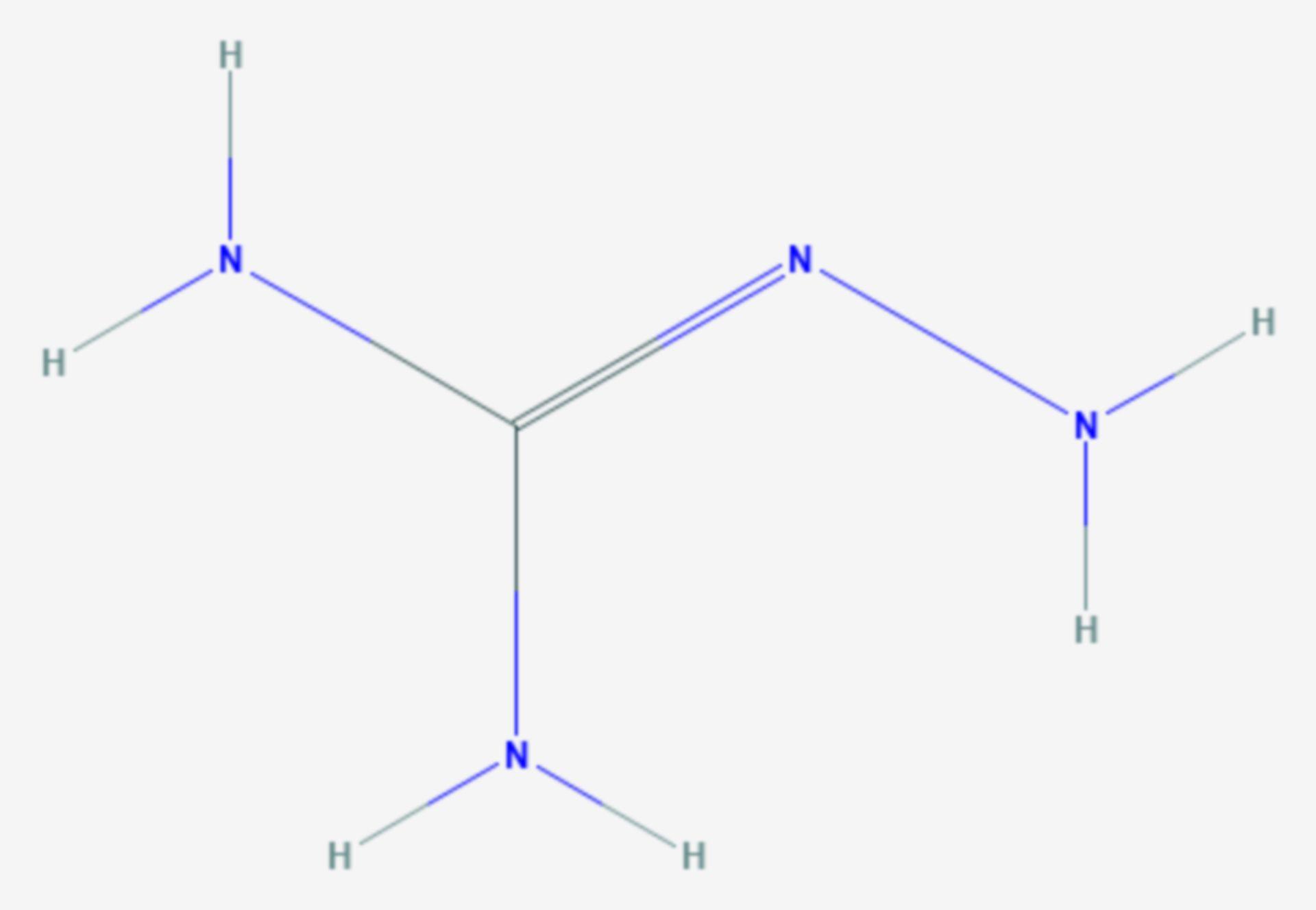 Aminoguanidin (Strukturformel)