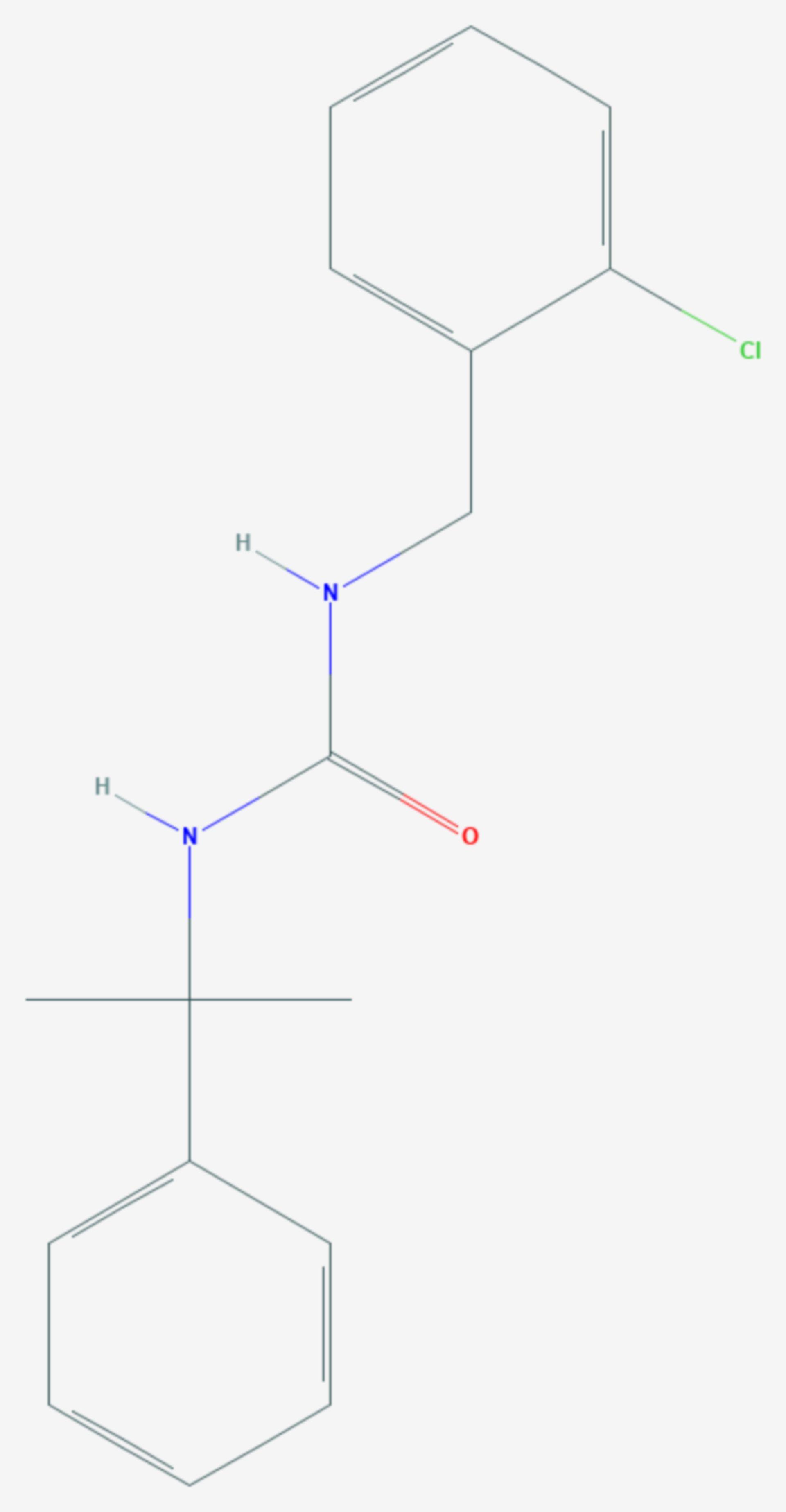 Cumyluron (Strukturformel)