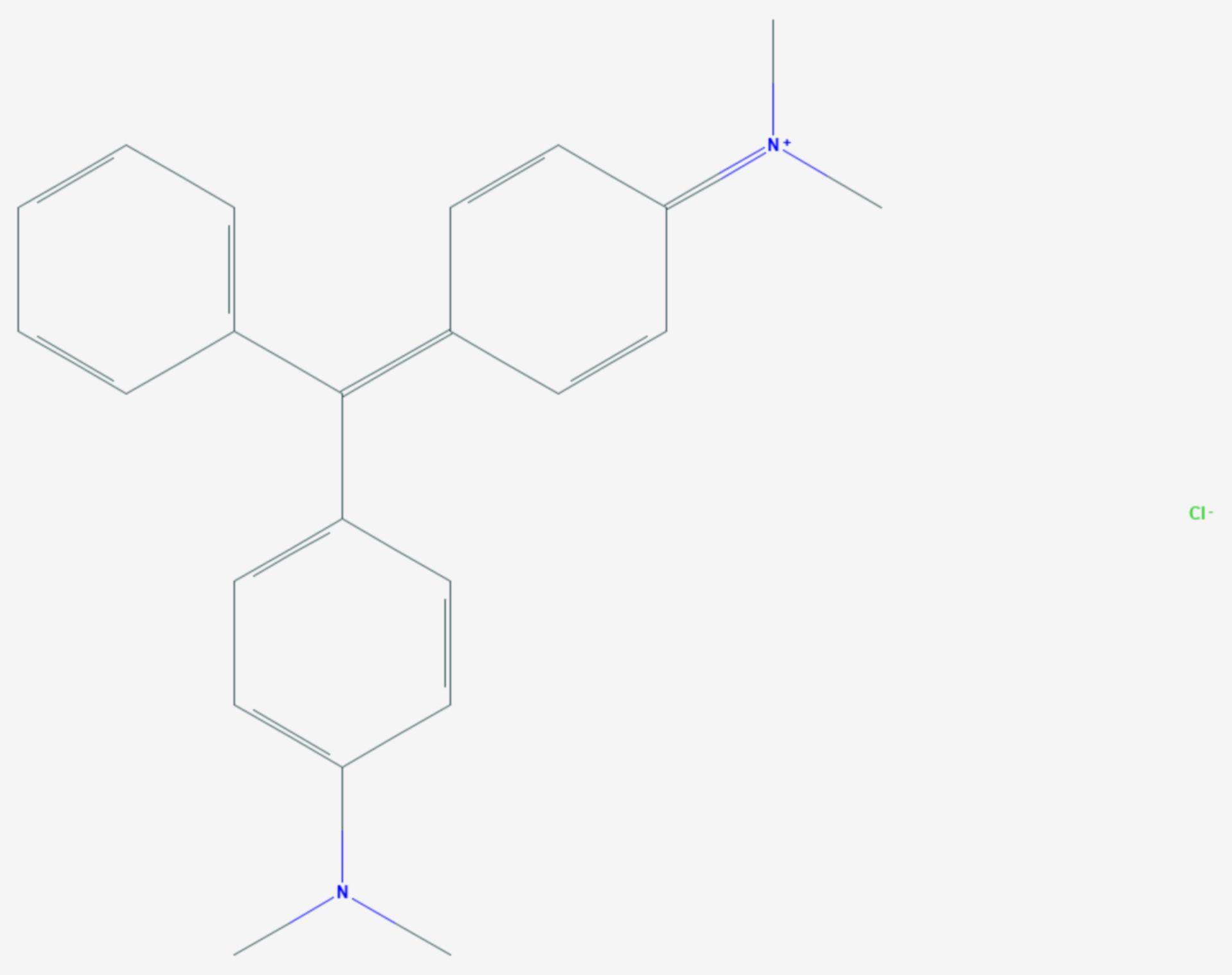 Malachitgrün (Strukturformel)
