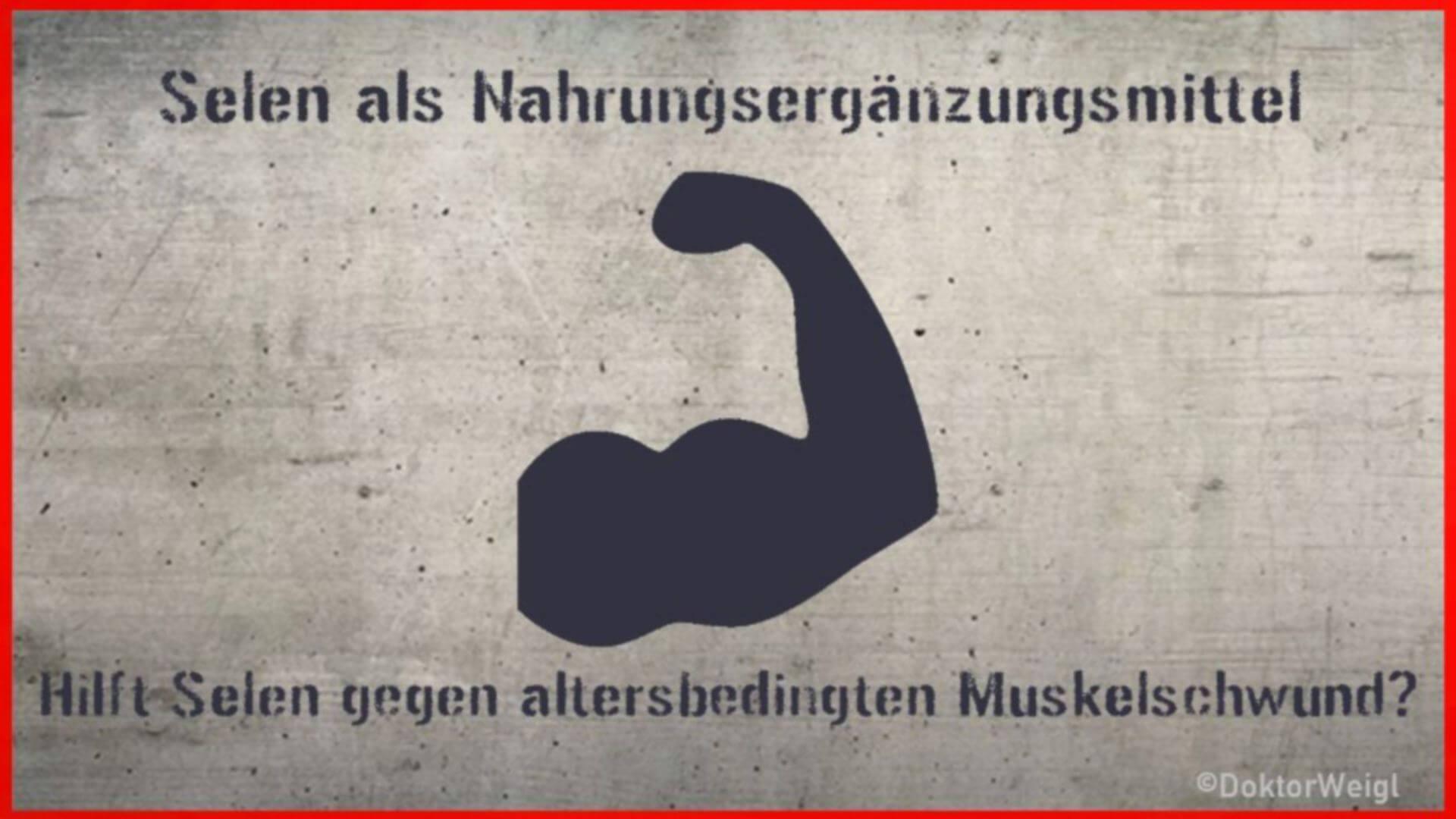 Hilft Selen gegen Muskelschwund im Alter? Das sagt die Forschung!