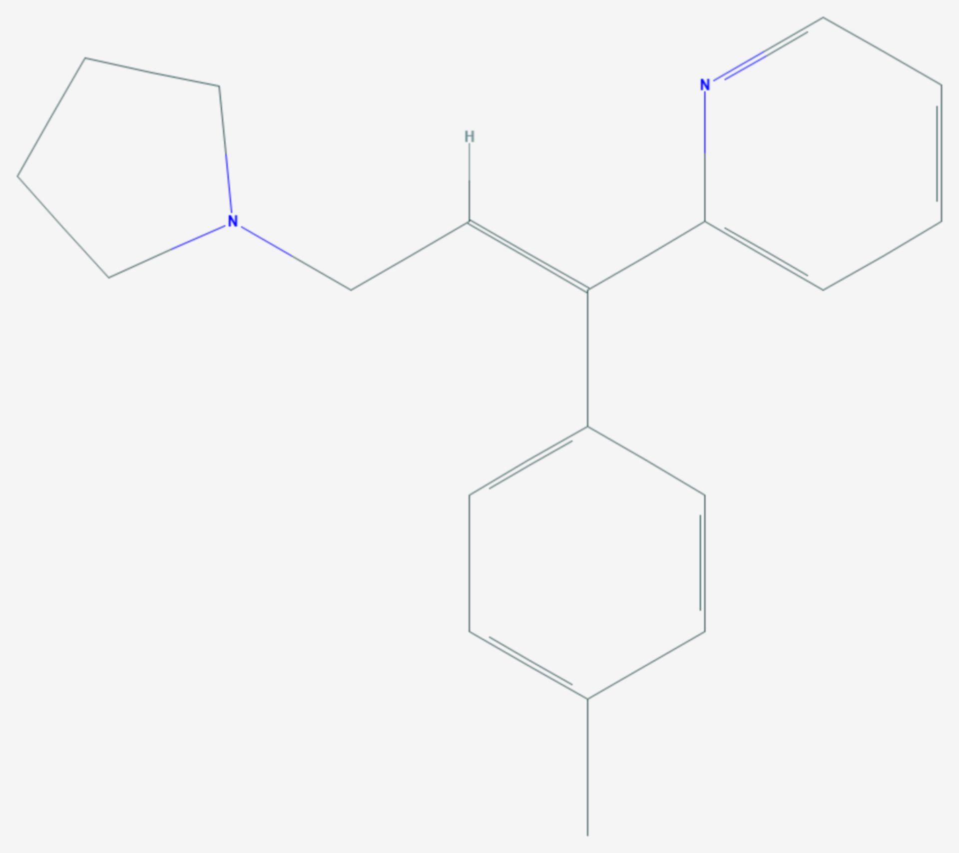 Triprolidin (Strukturformel)