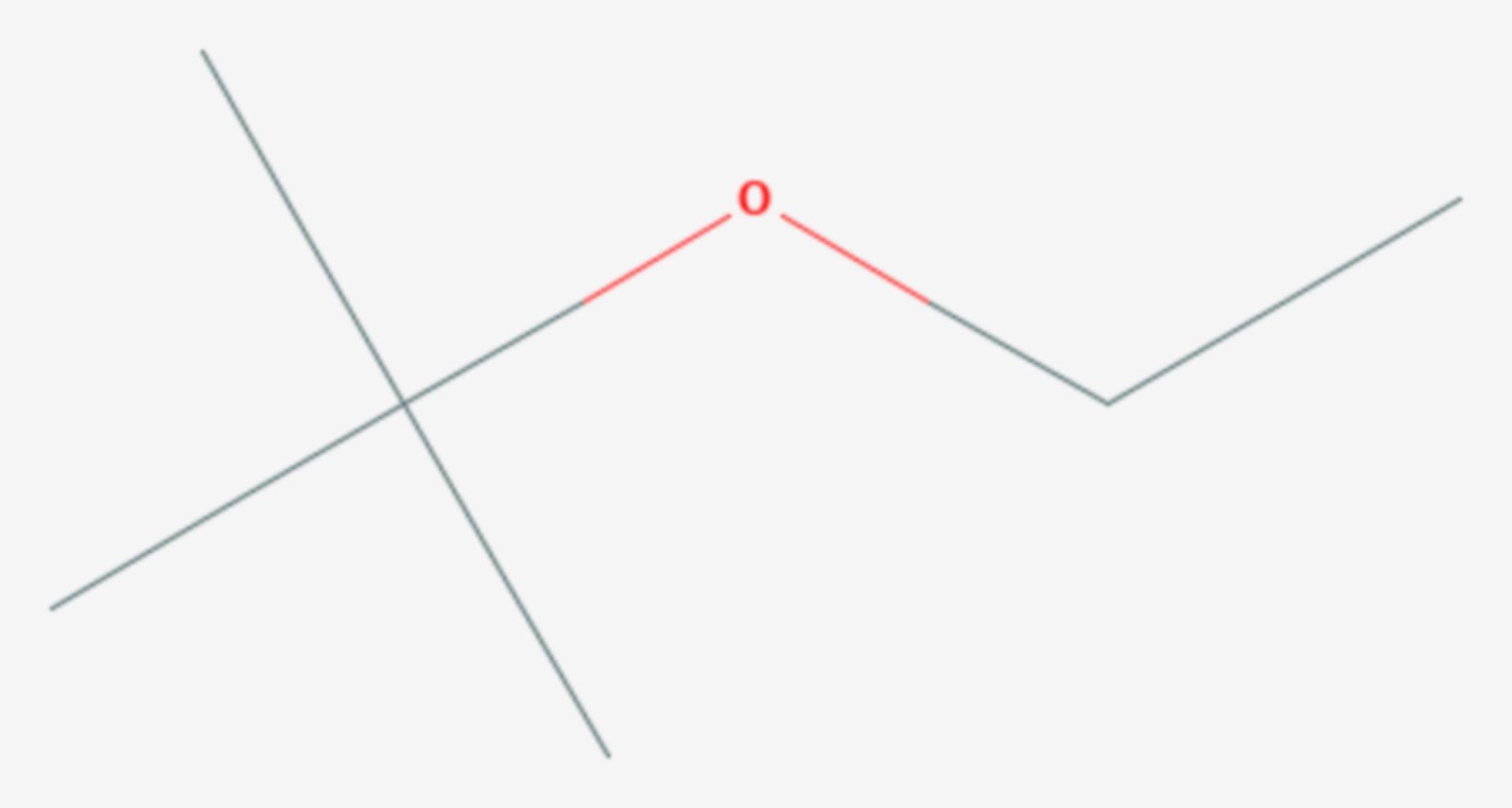 ETBE (Strukturformel)