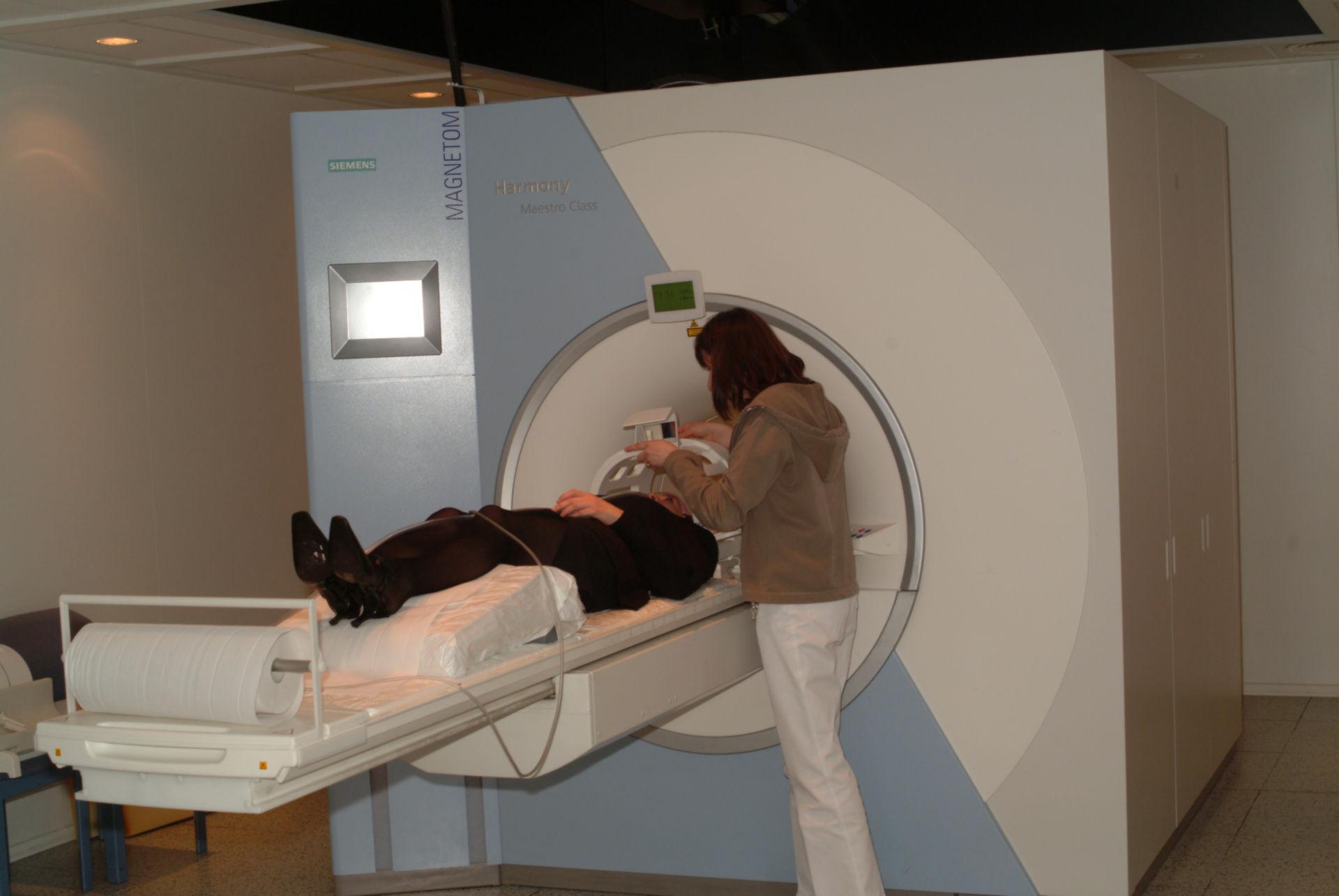 MRT-Untersuchung