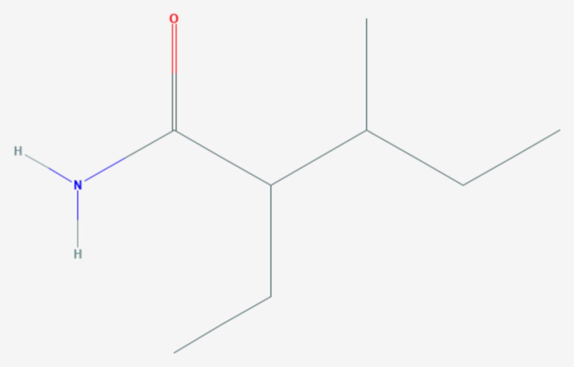 Valnoctamid (Strukturformel)