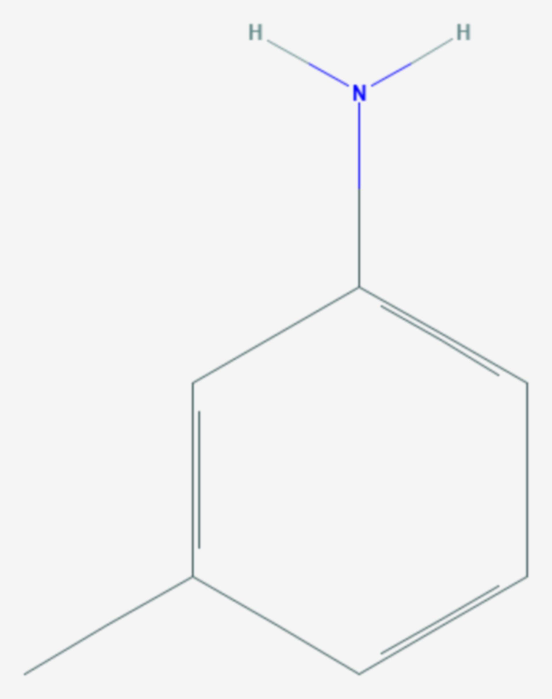M-Toluidin (Strukturformel)