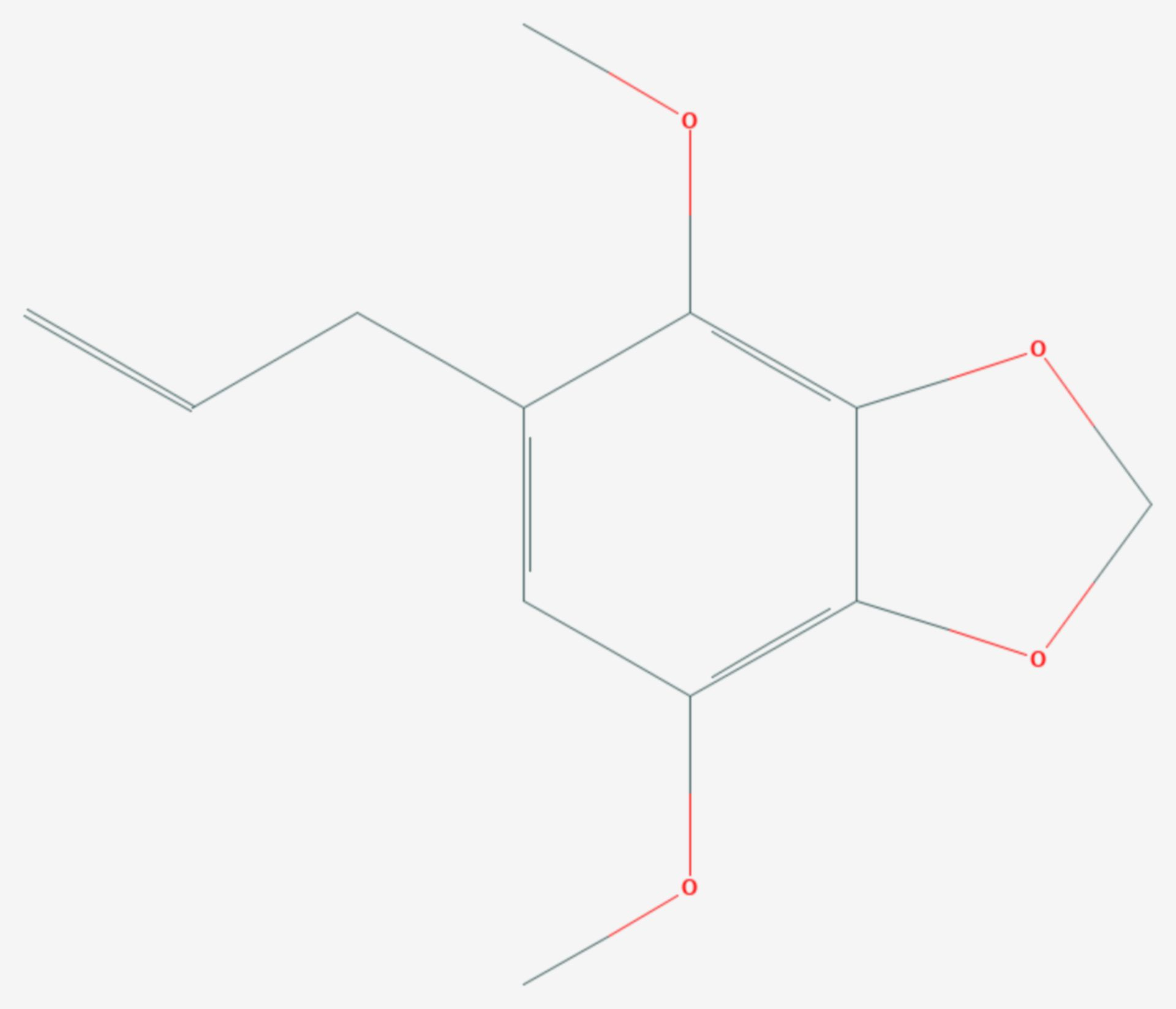 Apiol (Strukturformel)