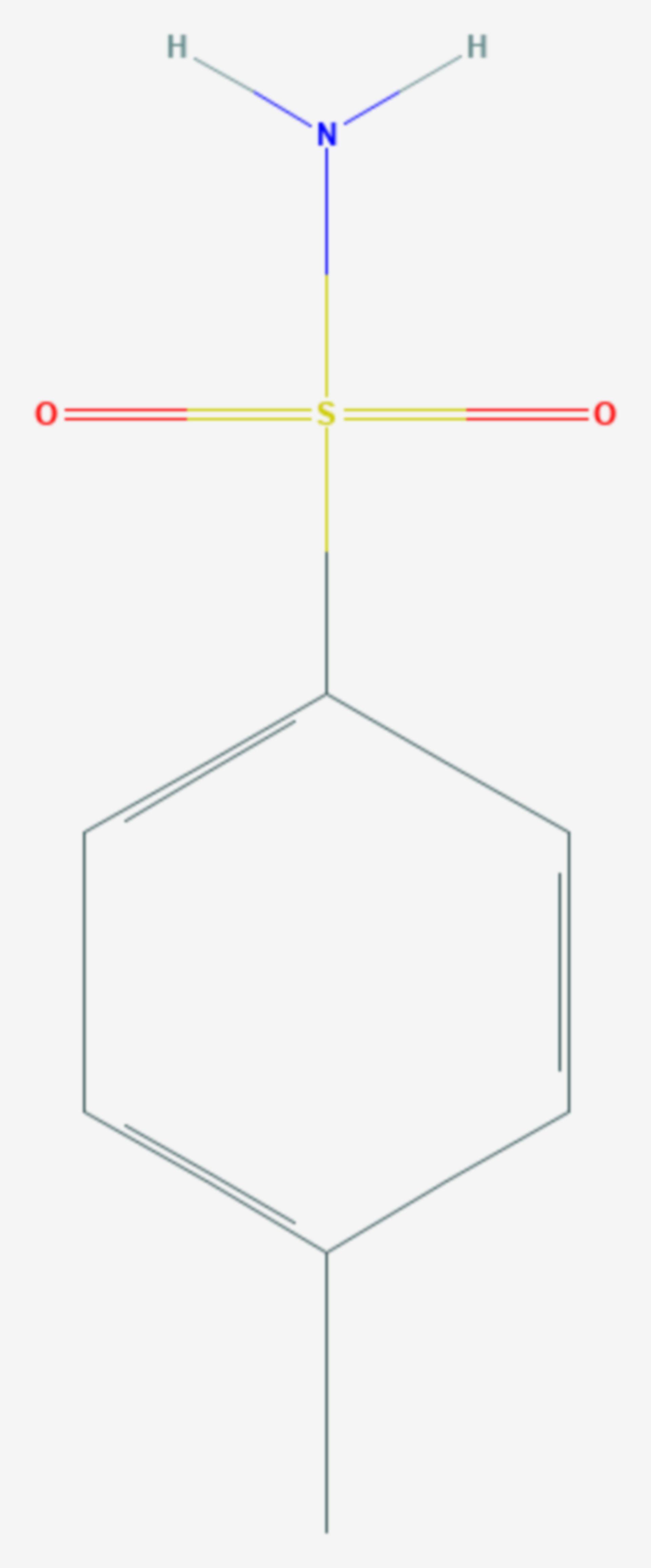 P-Toluolsulfonamid (Strukturformel)
