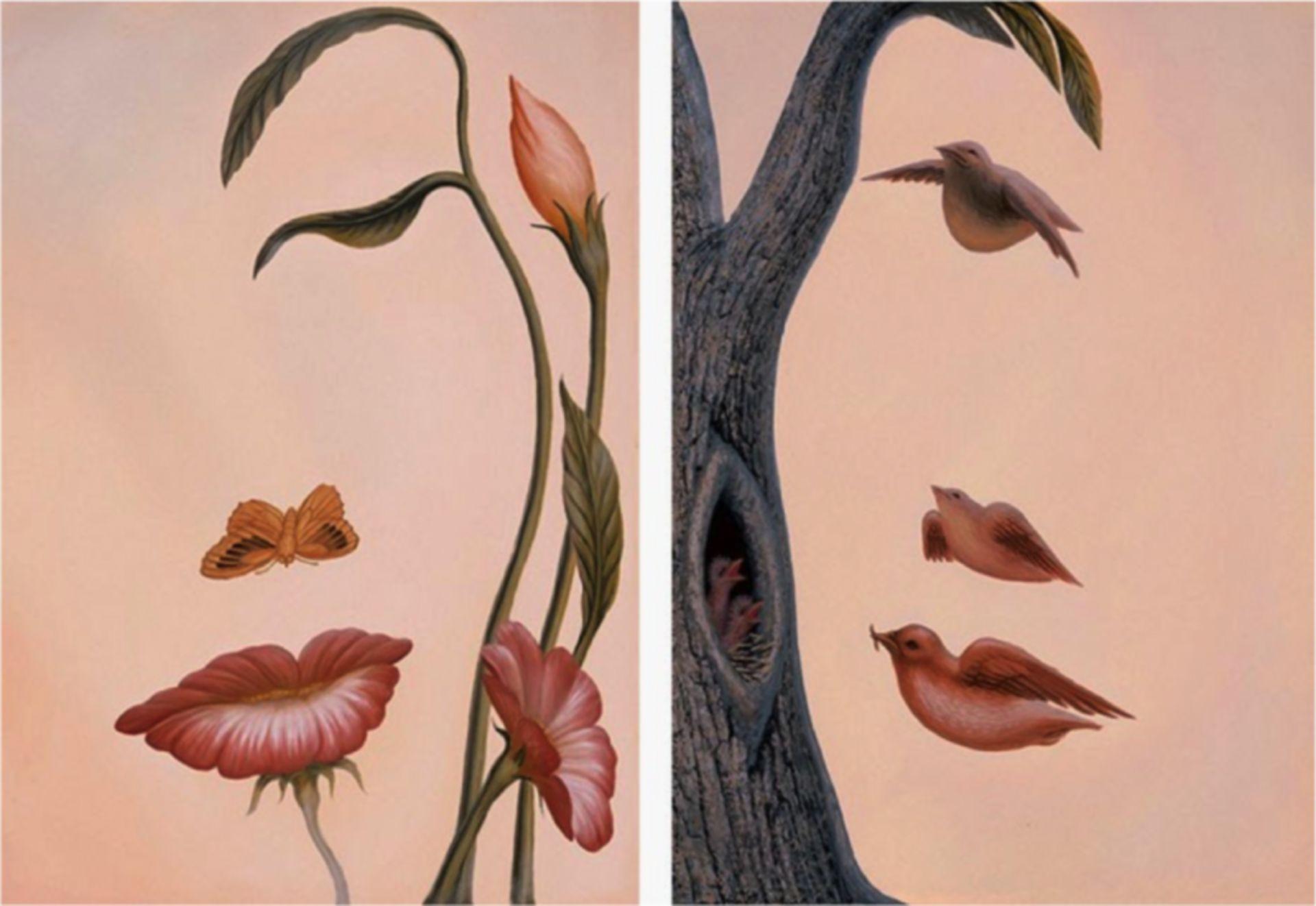 Natural beauty - illusion