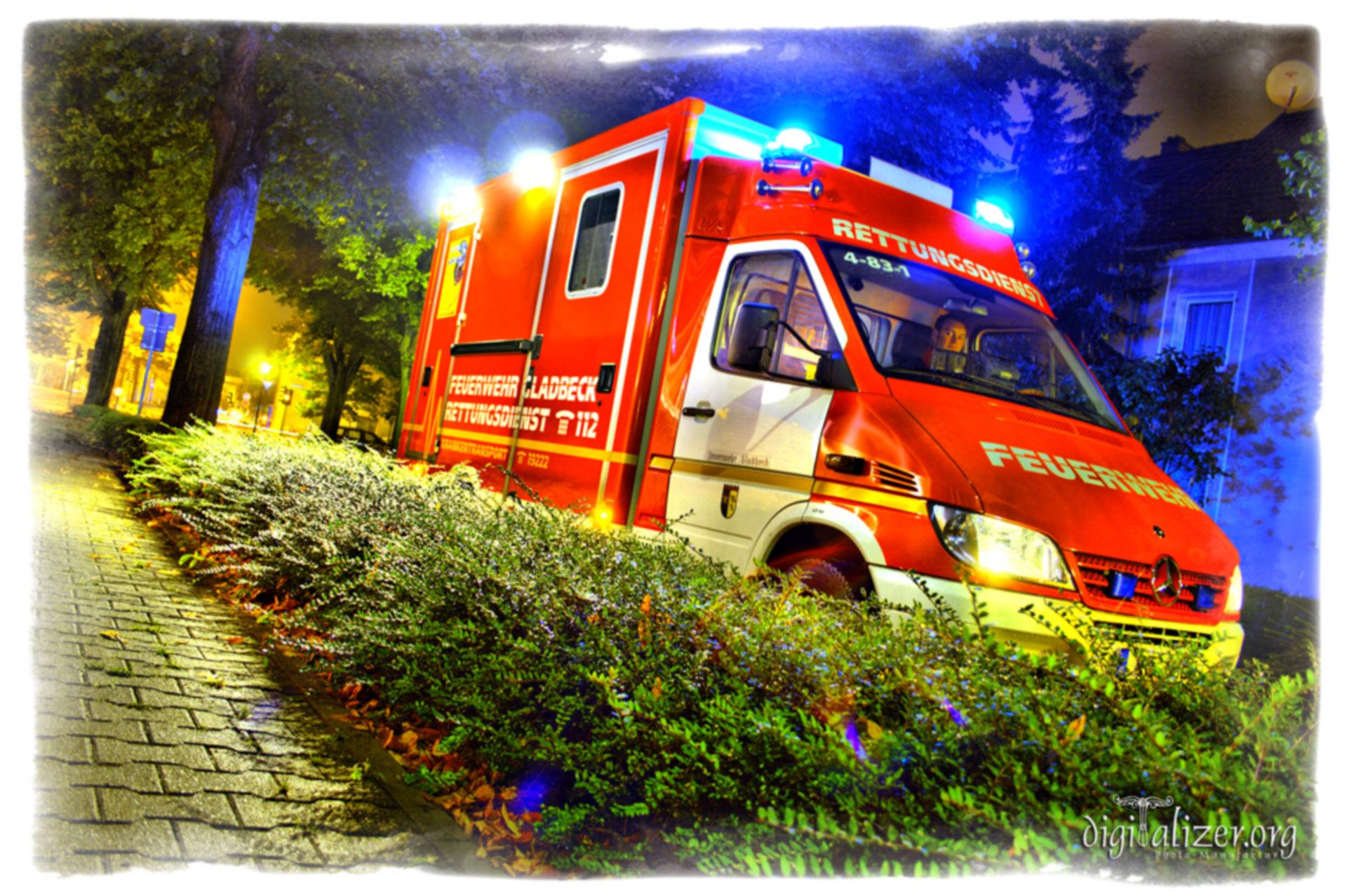 Ambulanza tedesca