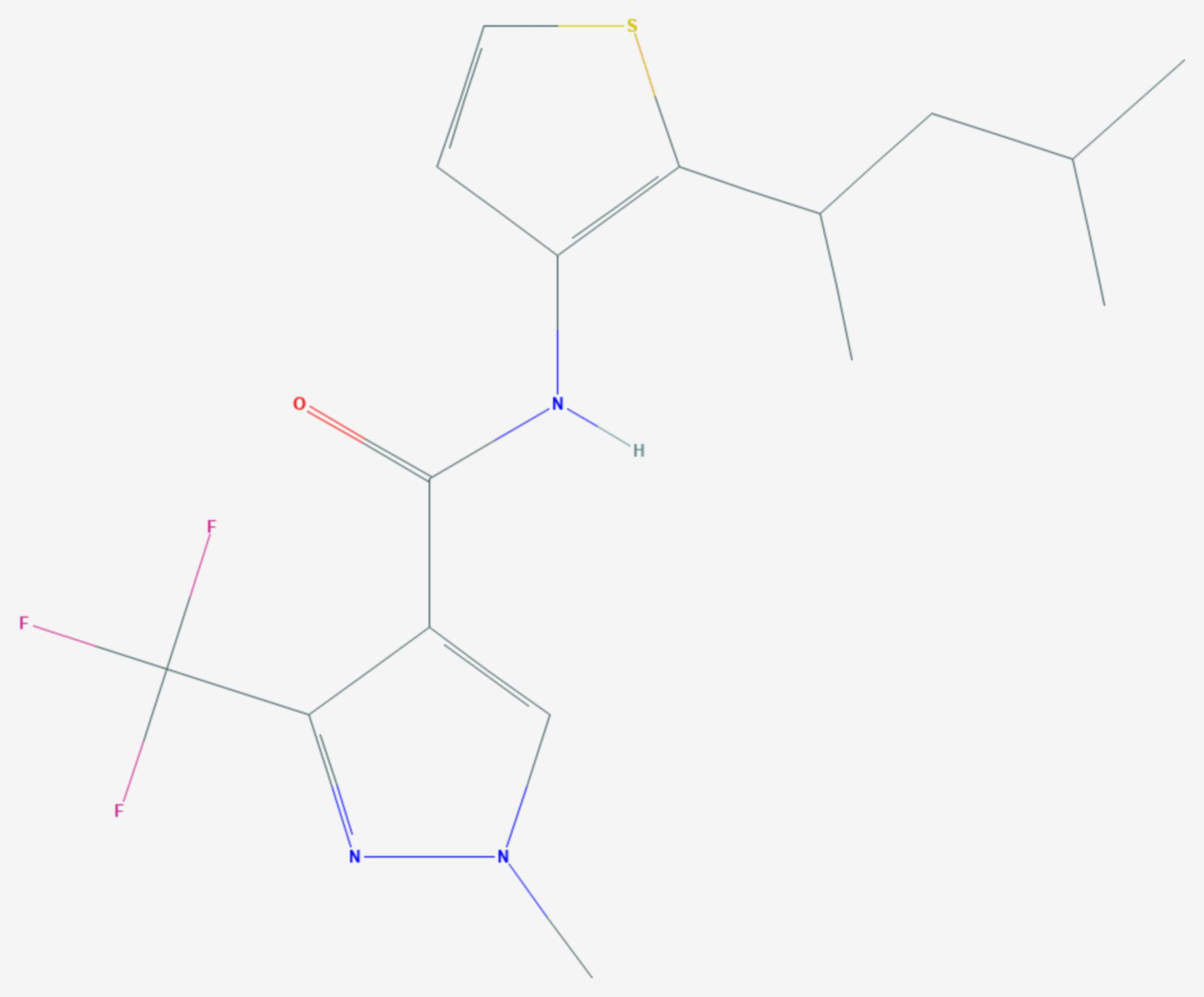 Penthiopyrad (Strukturformel)