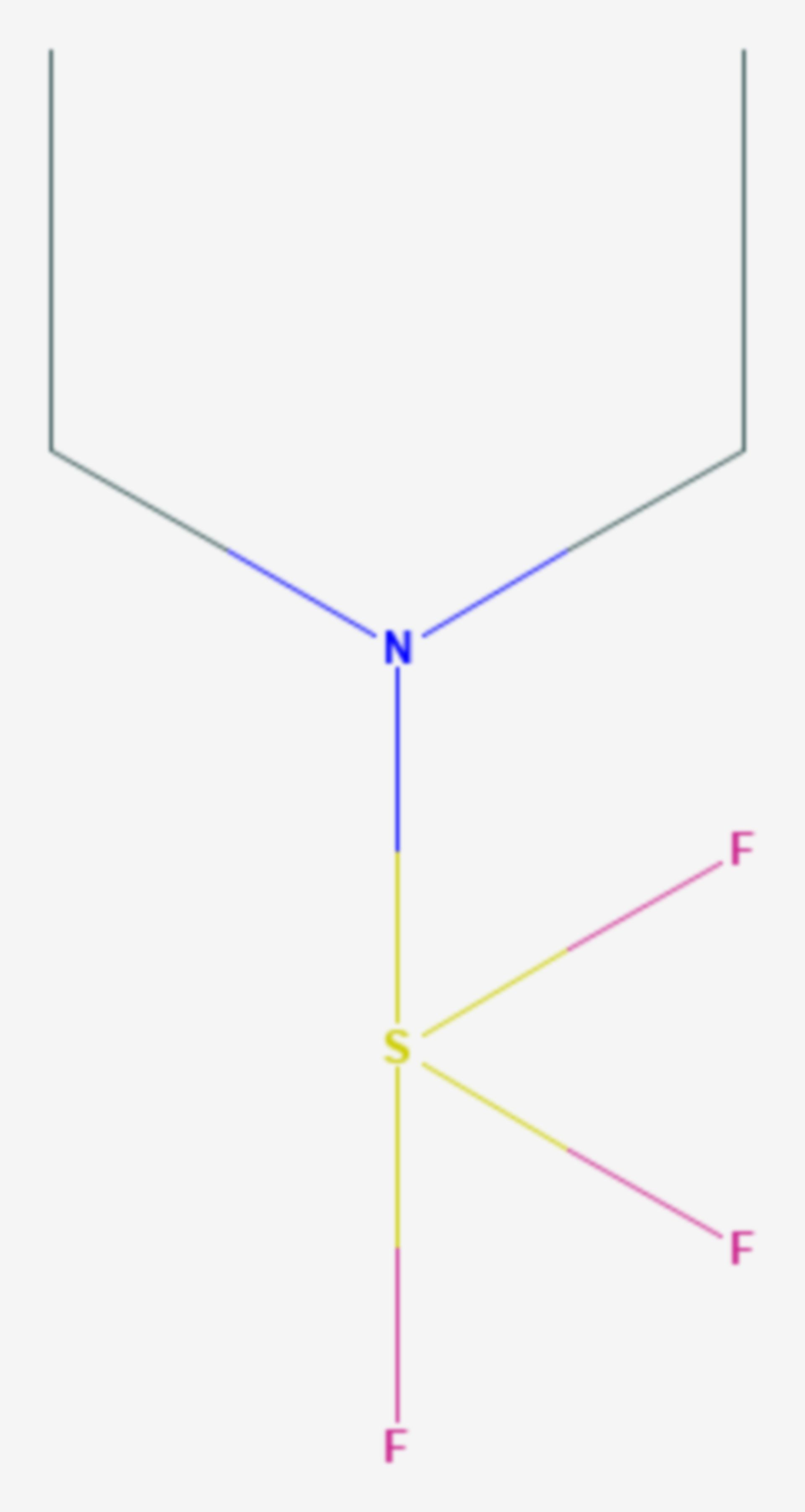 Diethylaminoschwefeltrifluorid (Strukturformel)
