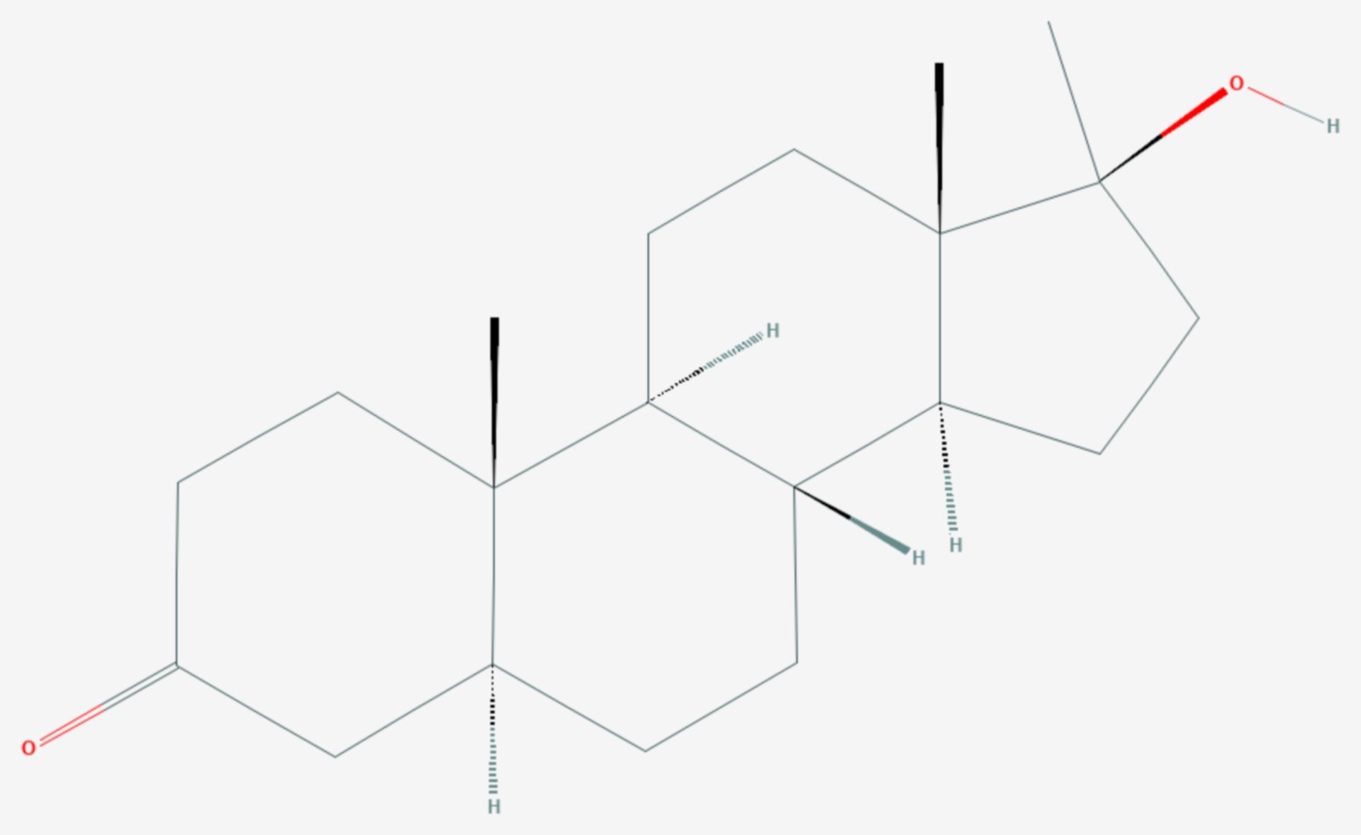 Mestanolon (Strukturformel)