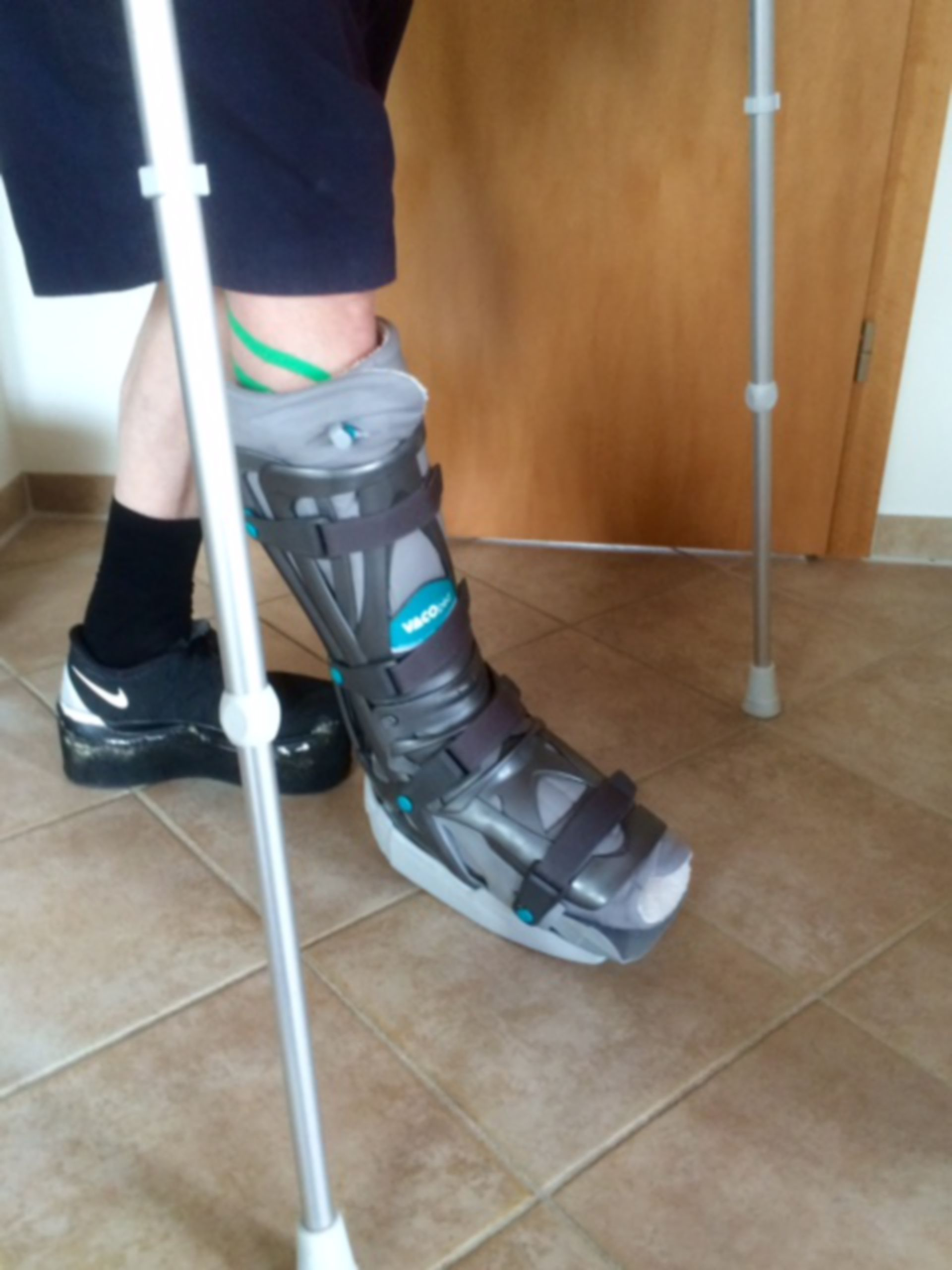 Shank-foot orthosis