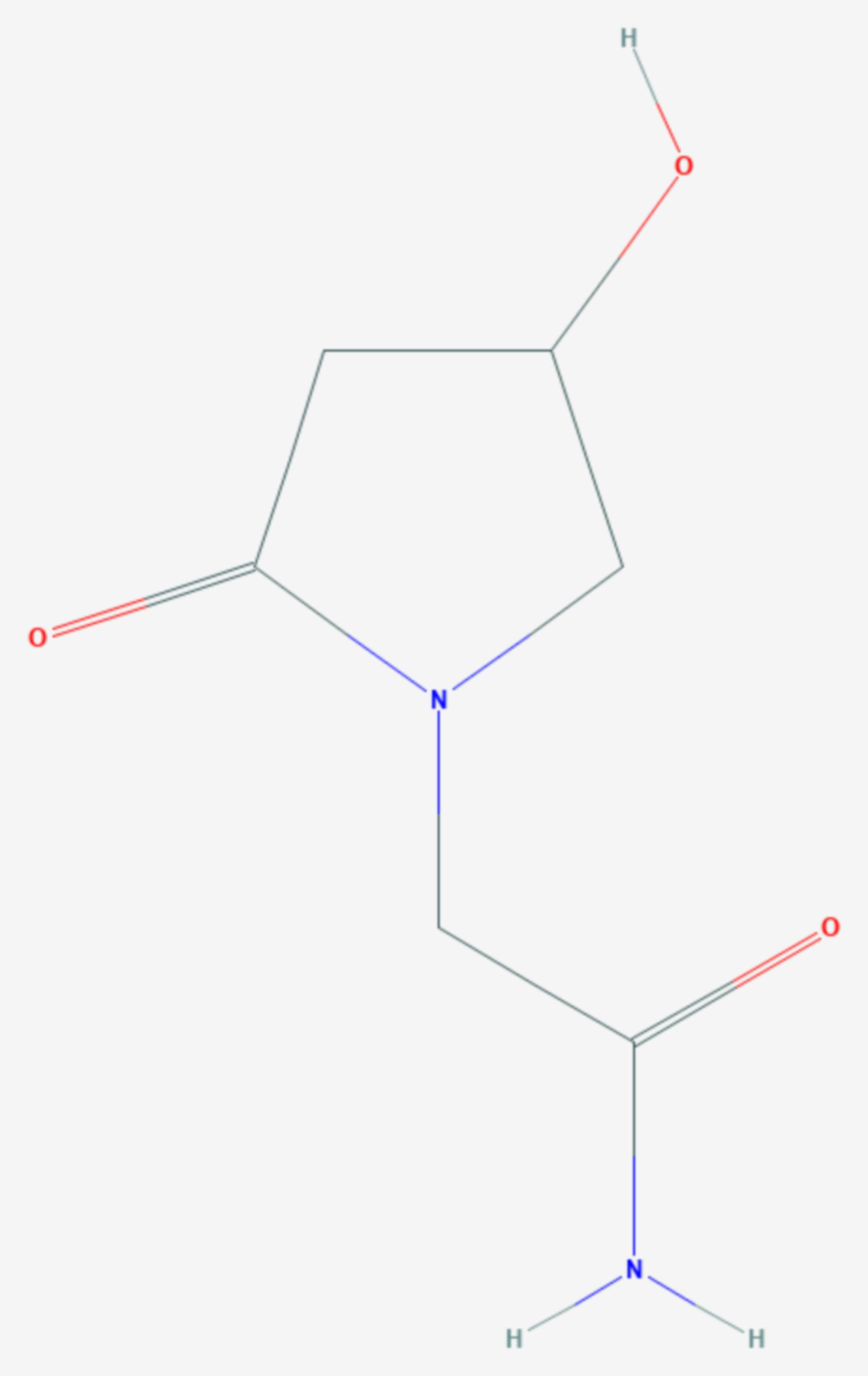 Oxiracetam (Strukturformel)