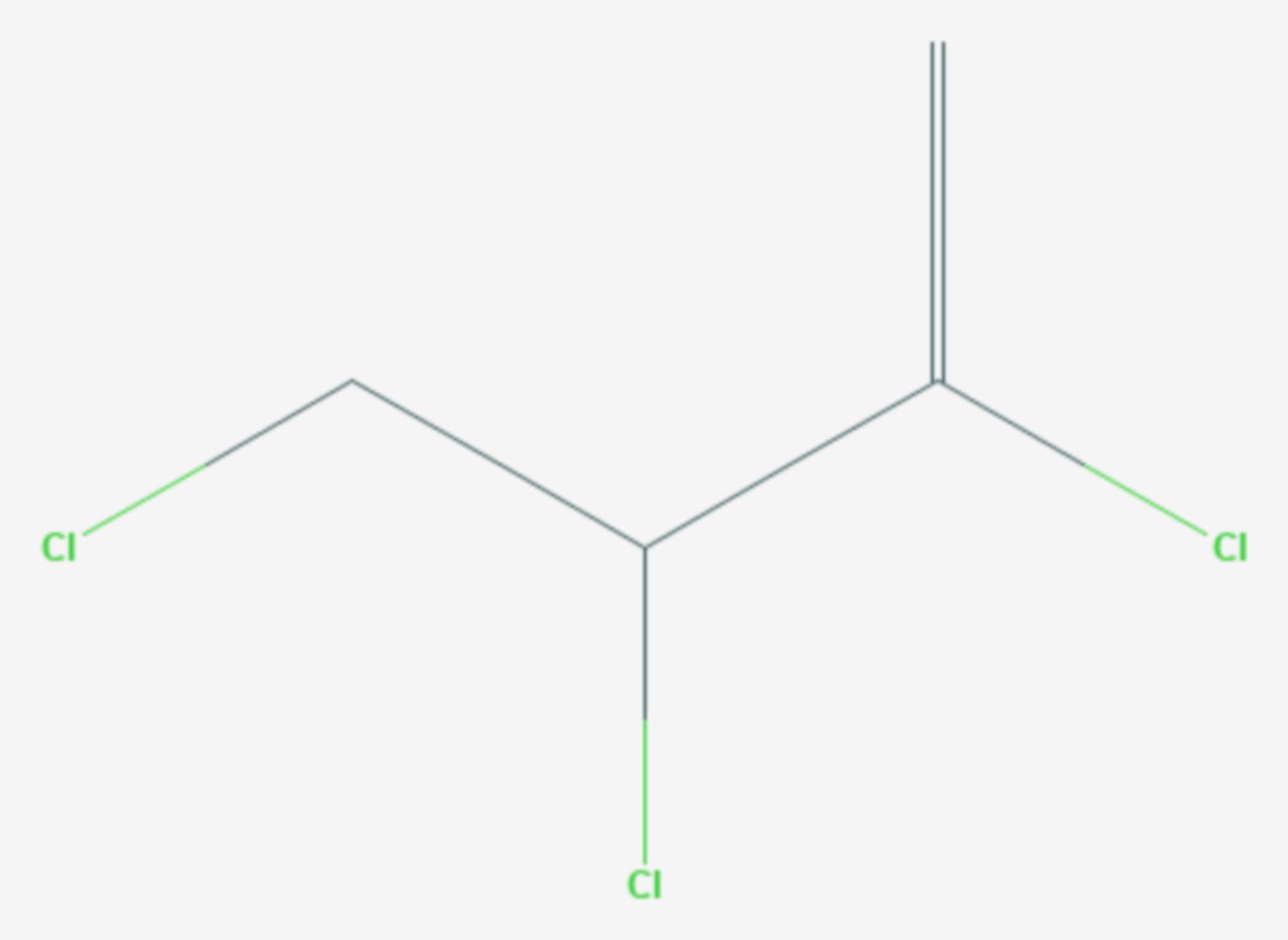 2,3,4-Trichlor-1-buten (Strukturformel)