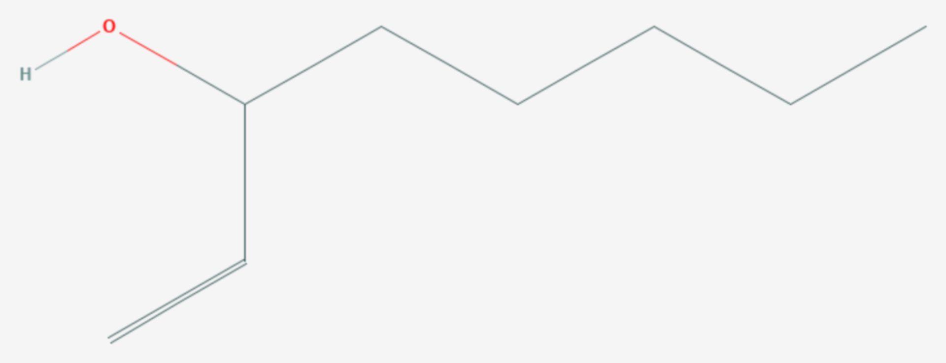 1-Octen-3-ol (Strukturformel)