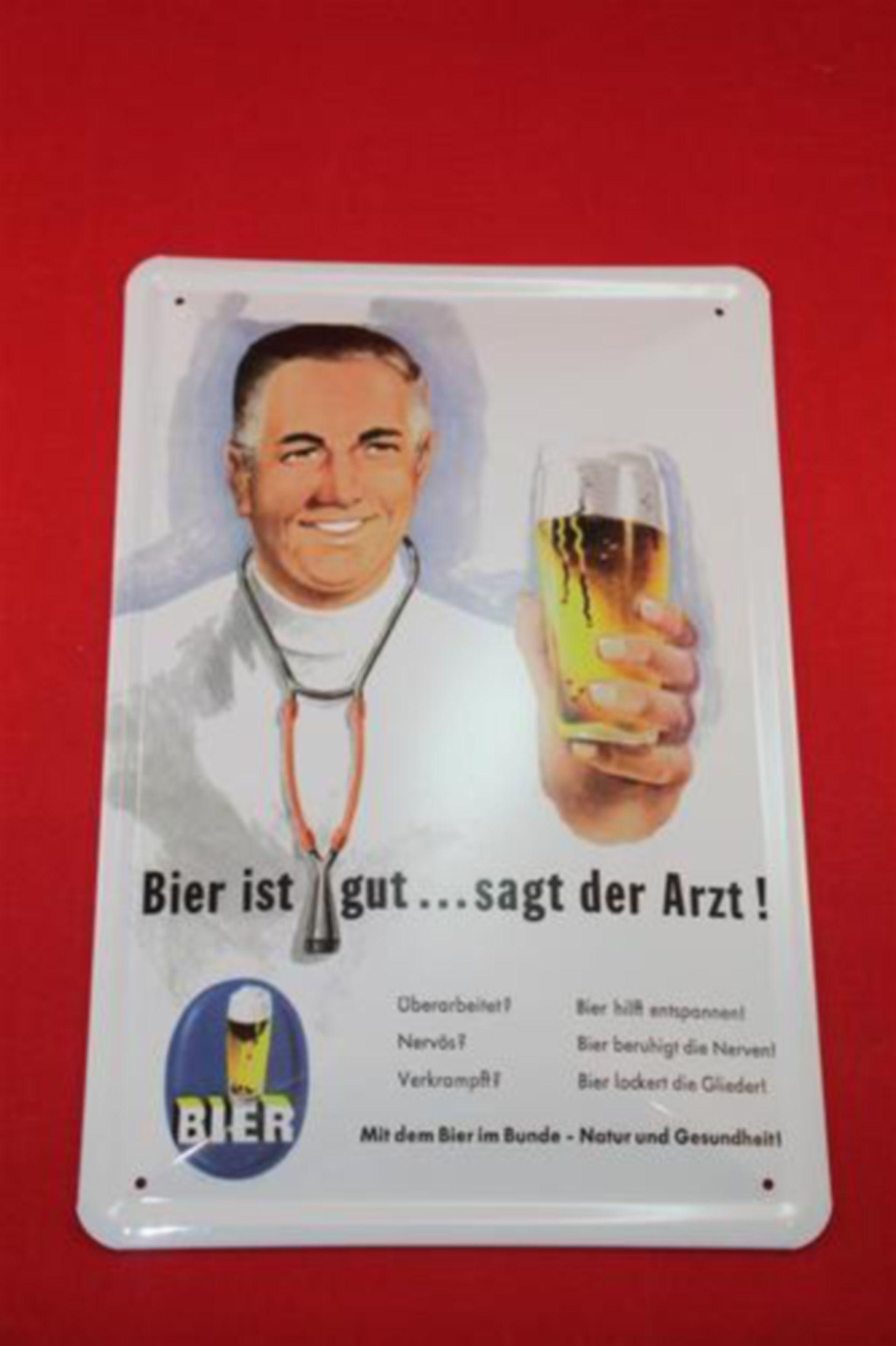 """""""Bier ist gut...sagt der Arzt!"""""""