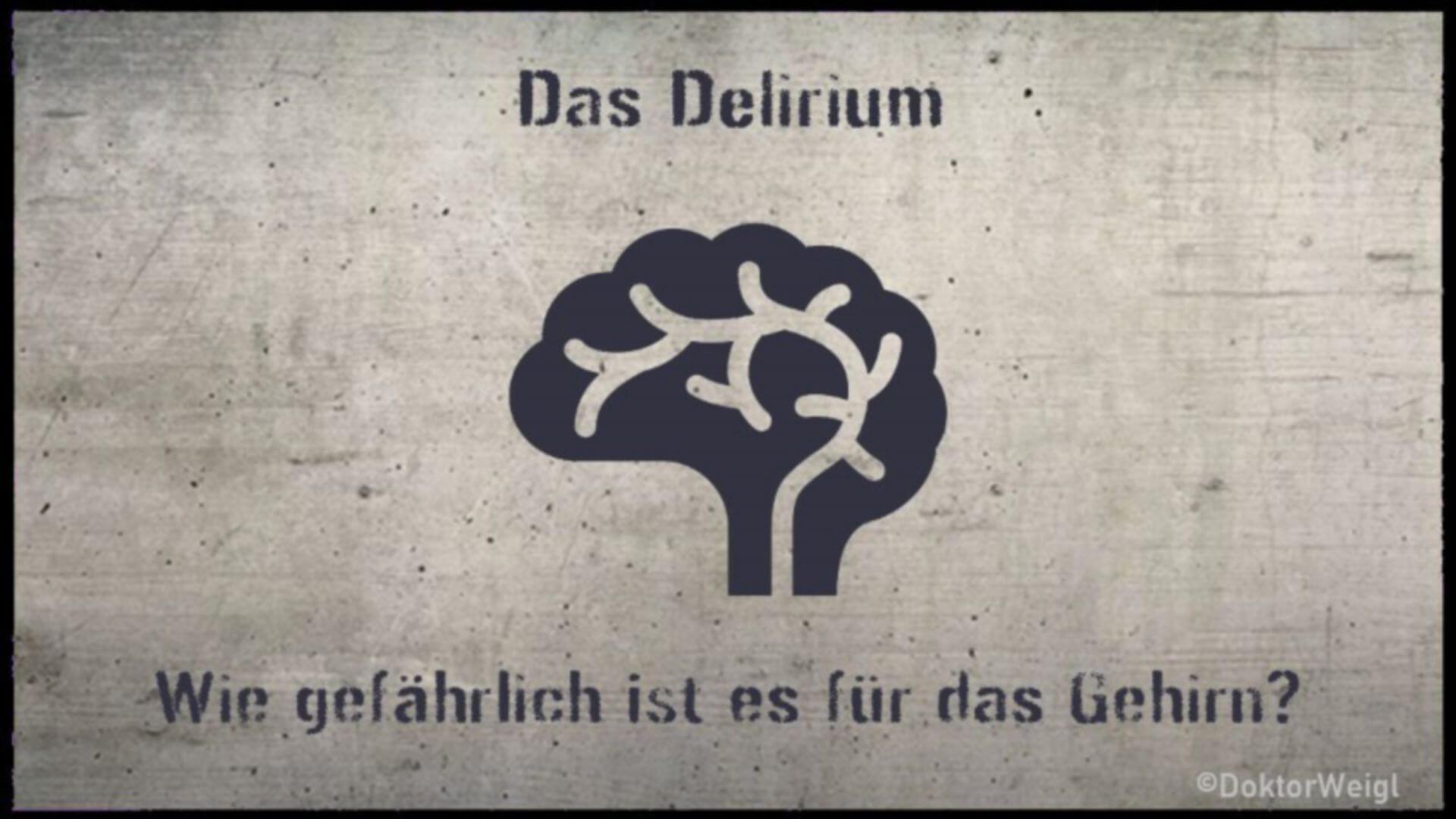 So gefährlich kann ein Delirium dauerhaft für Ihr Gehirn sein!