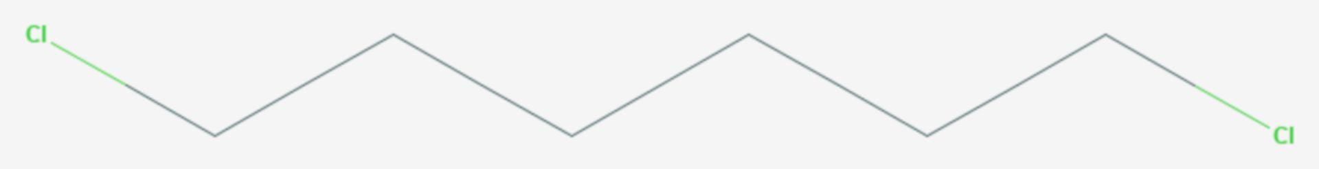1,6-Dichlorhexan (Strukturformel)