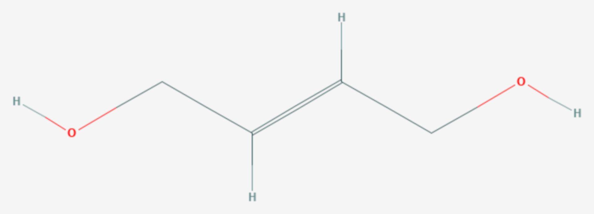 2-Buten-1,4-diol (Strukturformel)