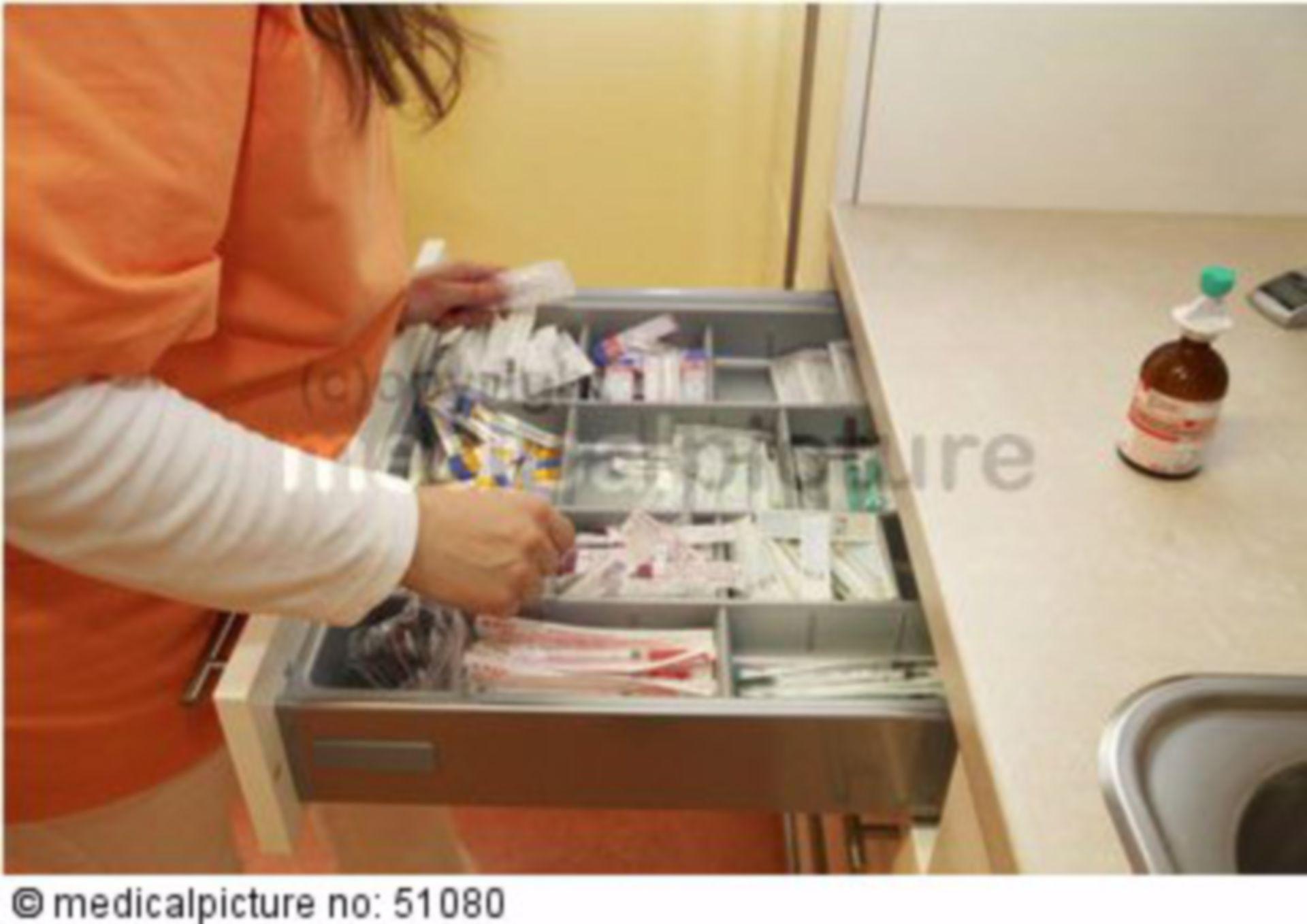 Injektionswerkzeug Arztpraxis