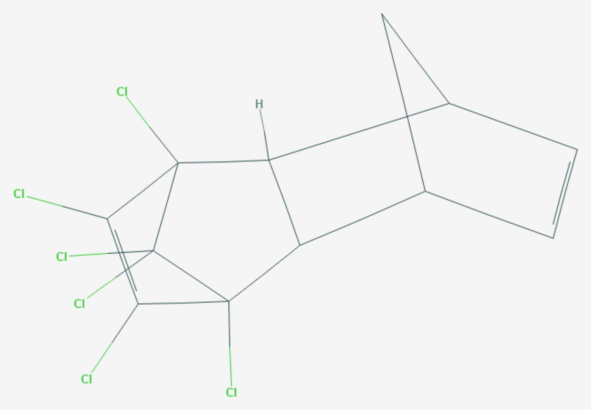 Aldrin (Strukturformel)