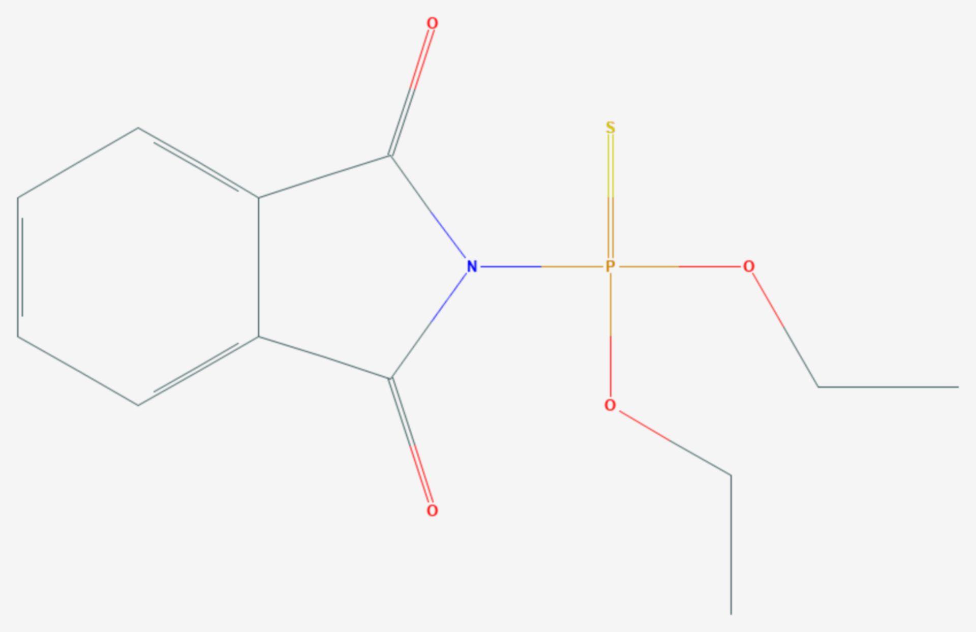 Ditalimfos (Strukturformel)
