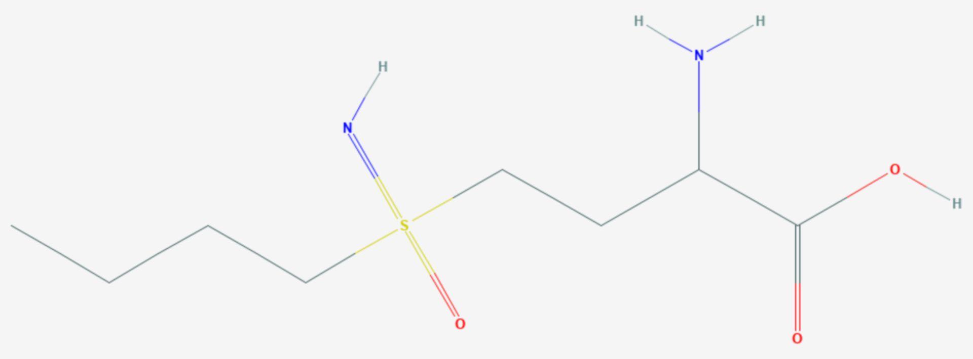 Buthioninsulfoximin (Strukturformel)
