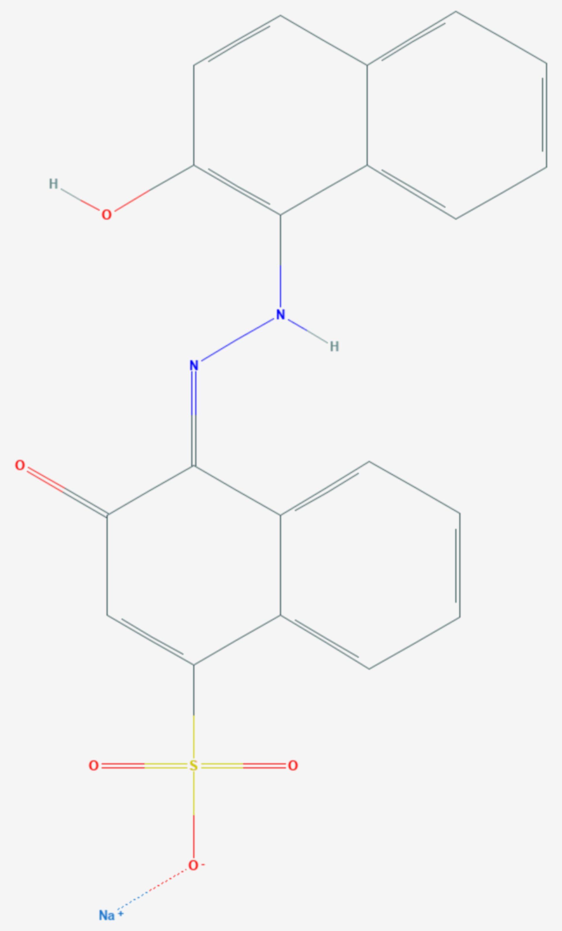Eriochromblauschwarz R (Strukturformel)