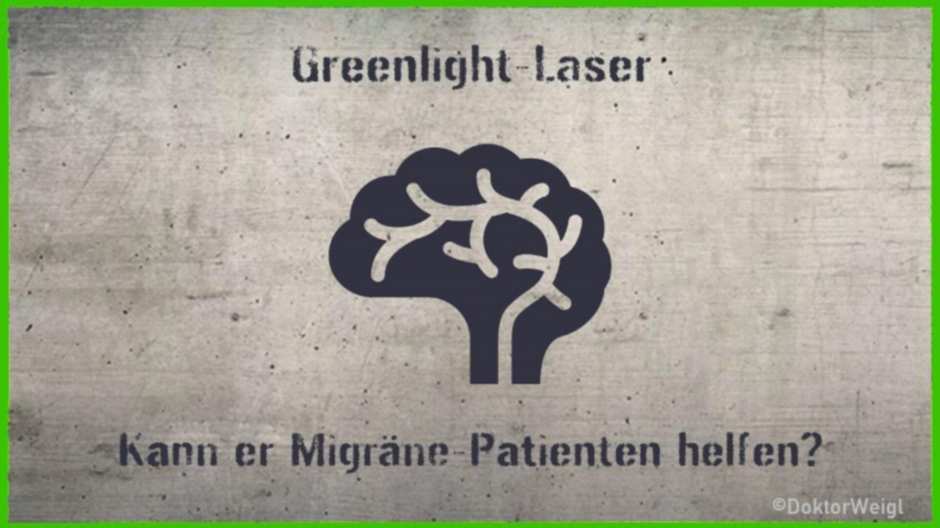Greenlight-Laser: Licht am Horizont für Migräne-Geplagte?